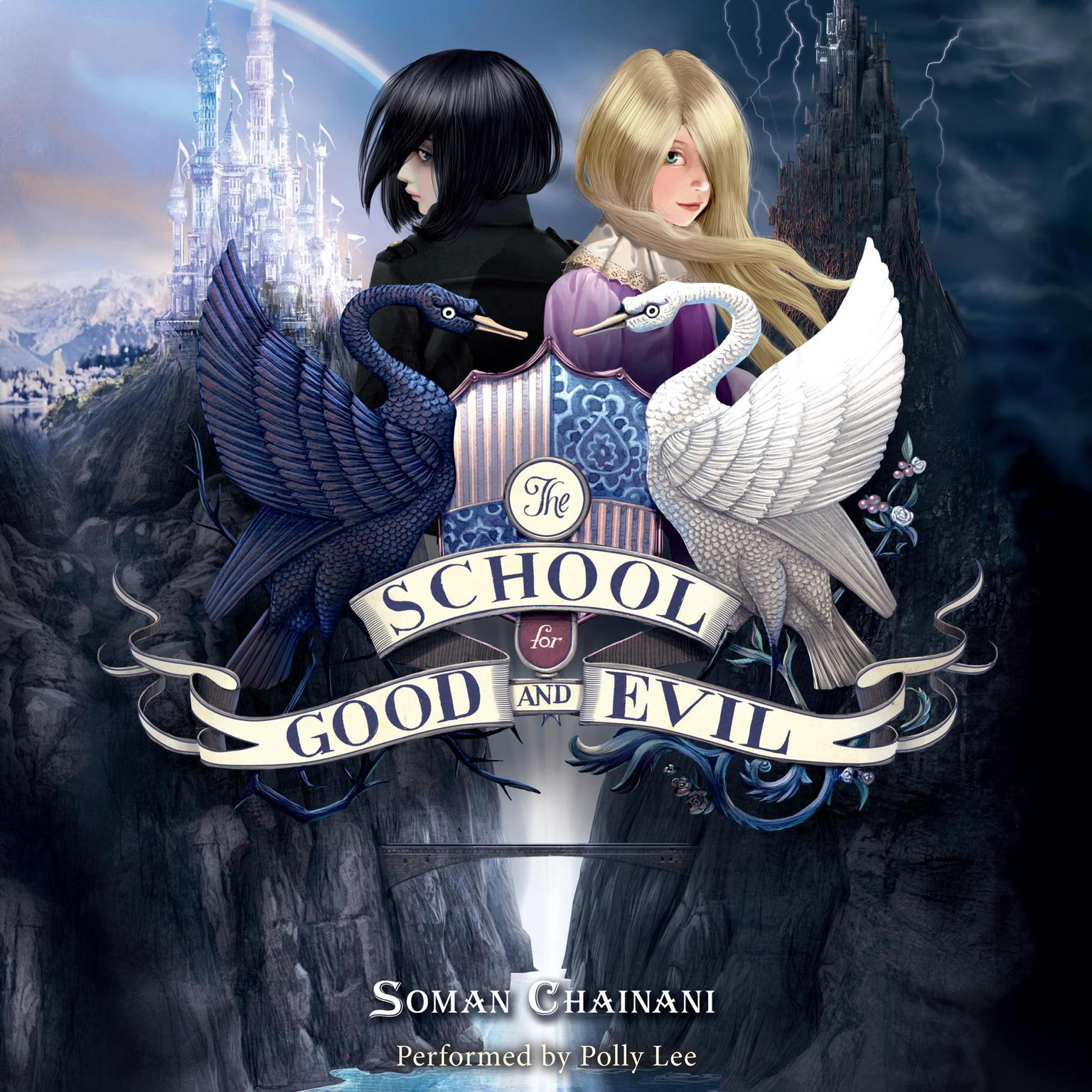 Printable The School for Good and Evil Audiobook Cover Art