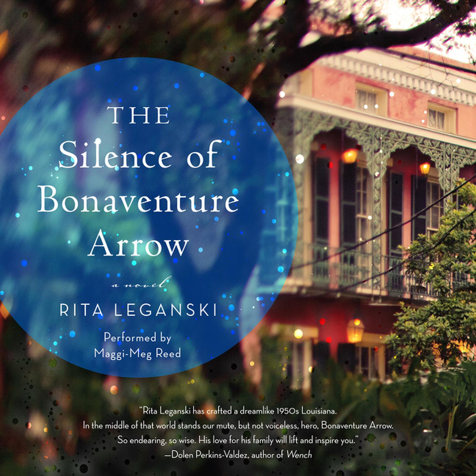 Printable The Silence of Bonaventure Arrow: A Novel Audiobook Cover Art