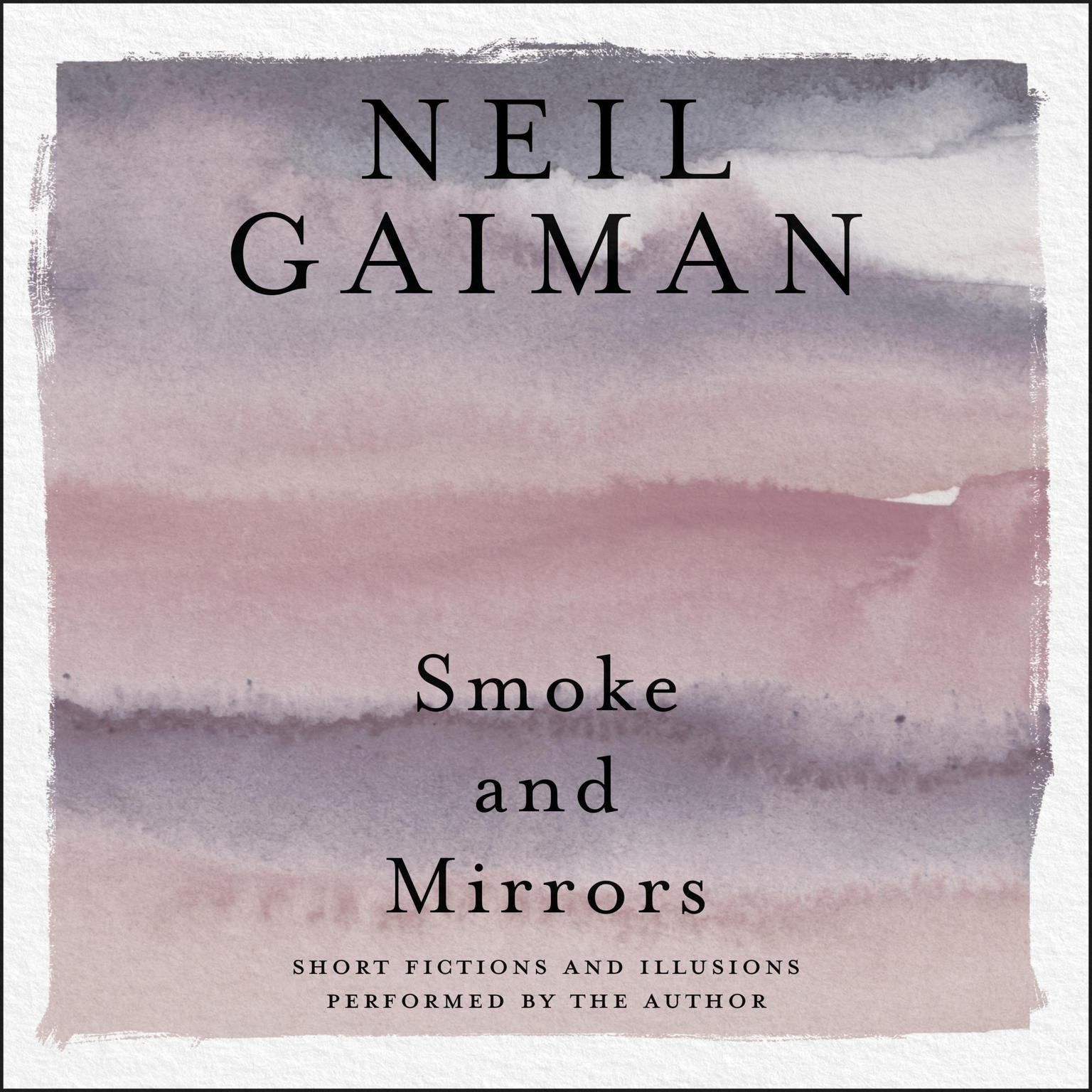 Printable Smoke and Mirrors: Short Fictions and Illusions Audiobook Cover Art