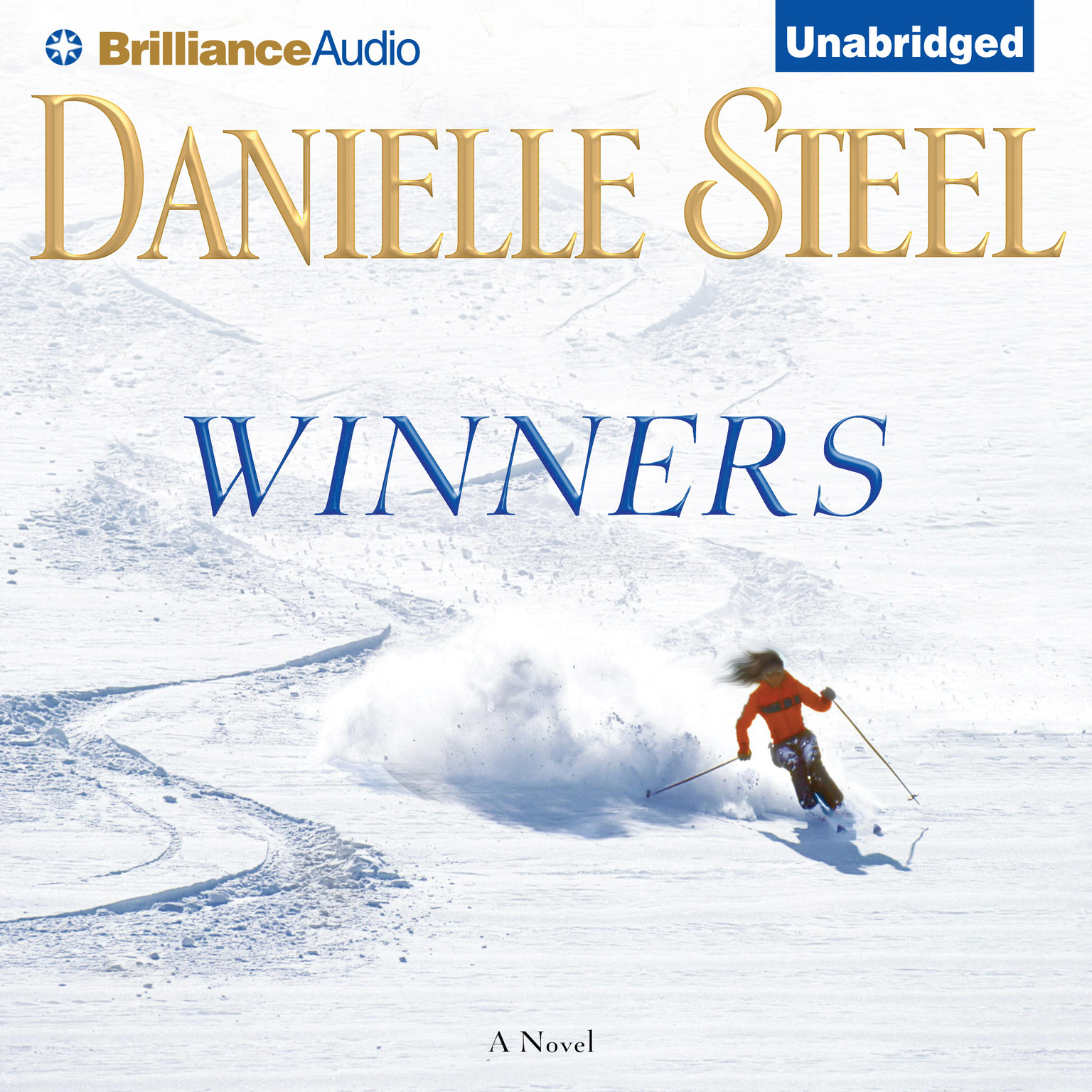 Printable Winners: A Novel Audiobook Cover Art