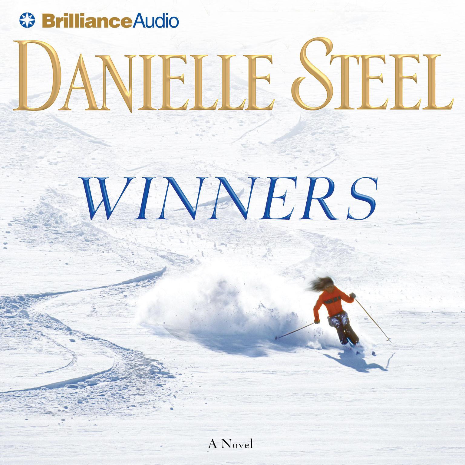 Printable Winners: A Novel Audiobook Cover Art