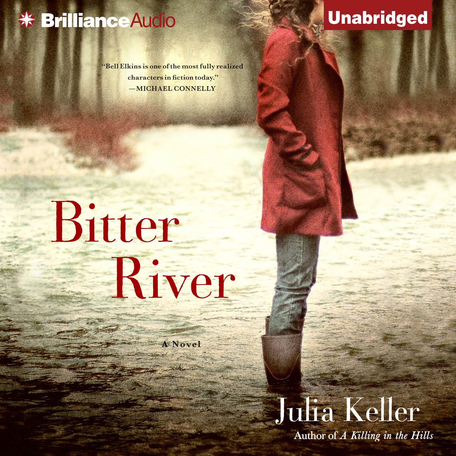 Printable Bitter River Audiobook Cover Art