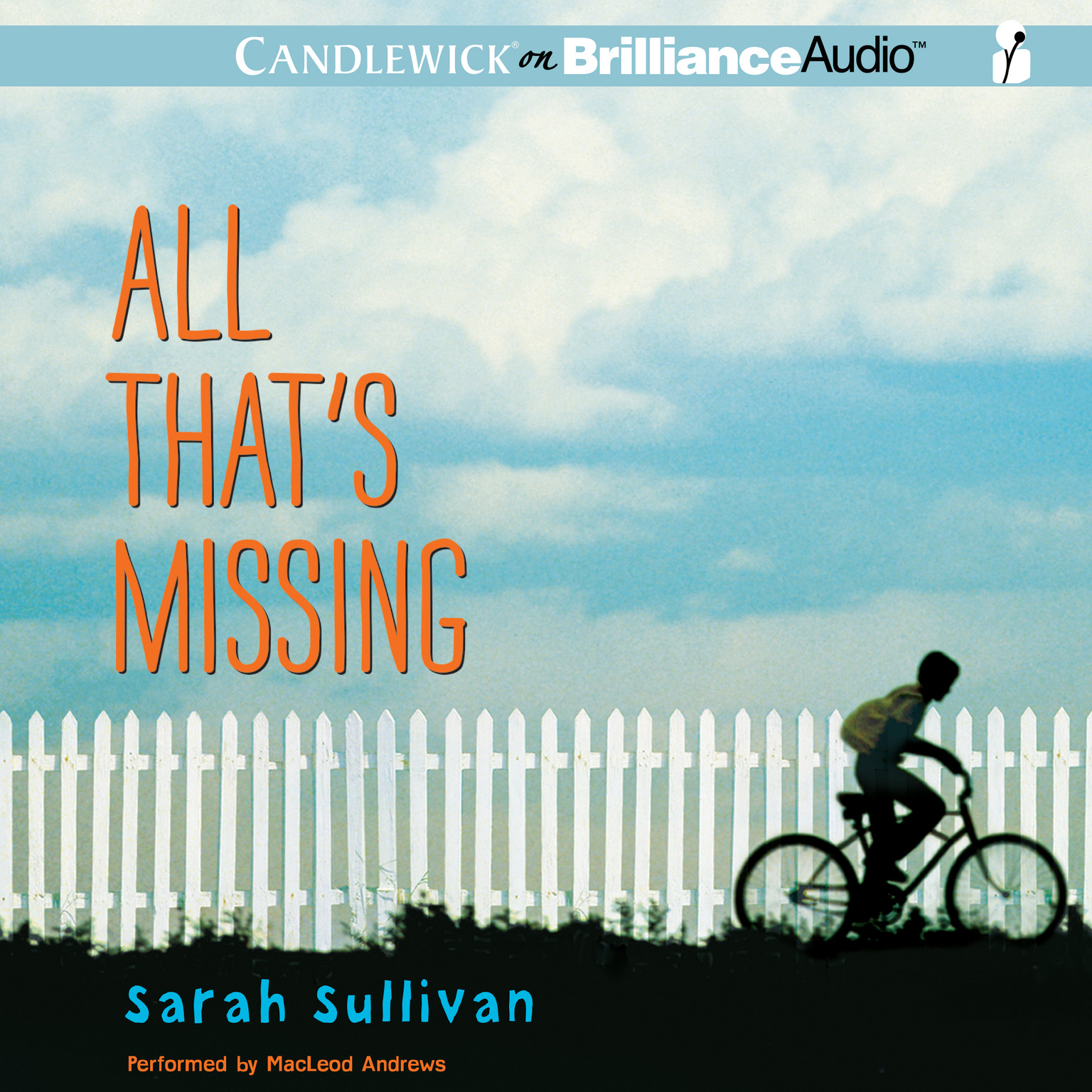 Printable All That's Missing Audiobook Cover Art
