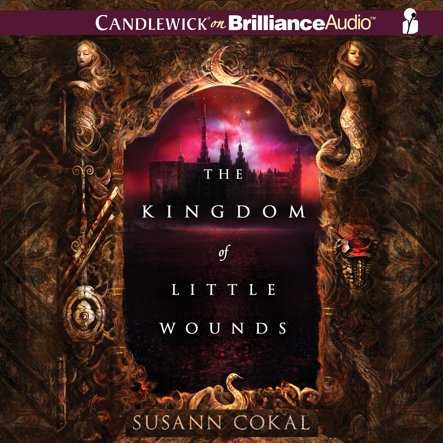 Printable The Kingdom of Little Wounds Audiobook Cover Art