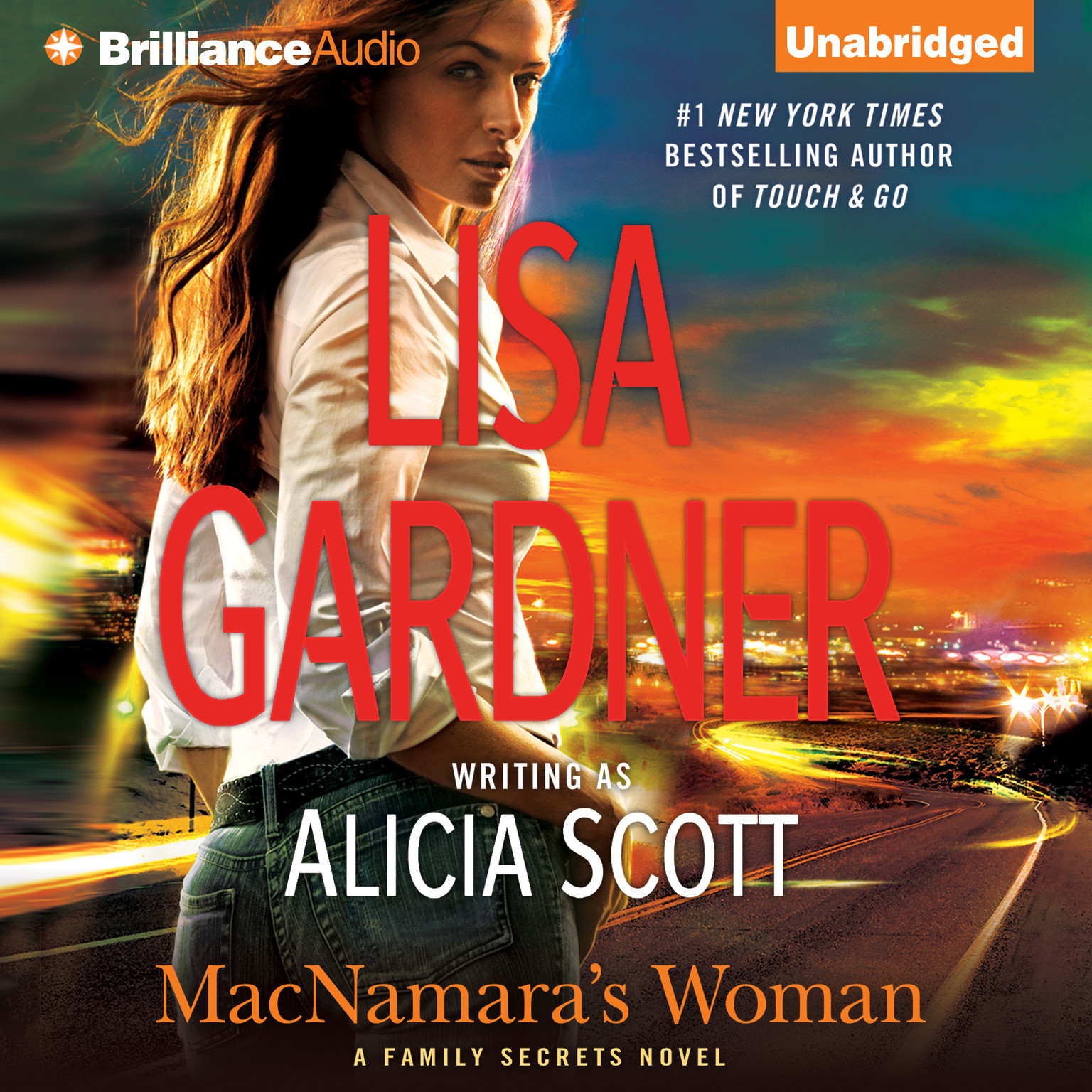 Printable MacNamara's Woman Audiobook Cover Art