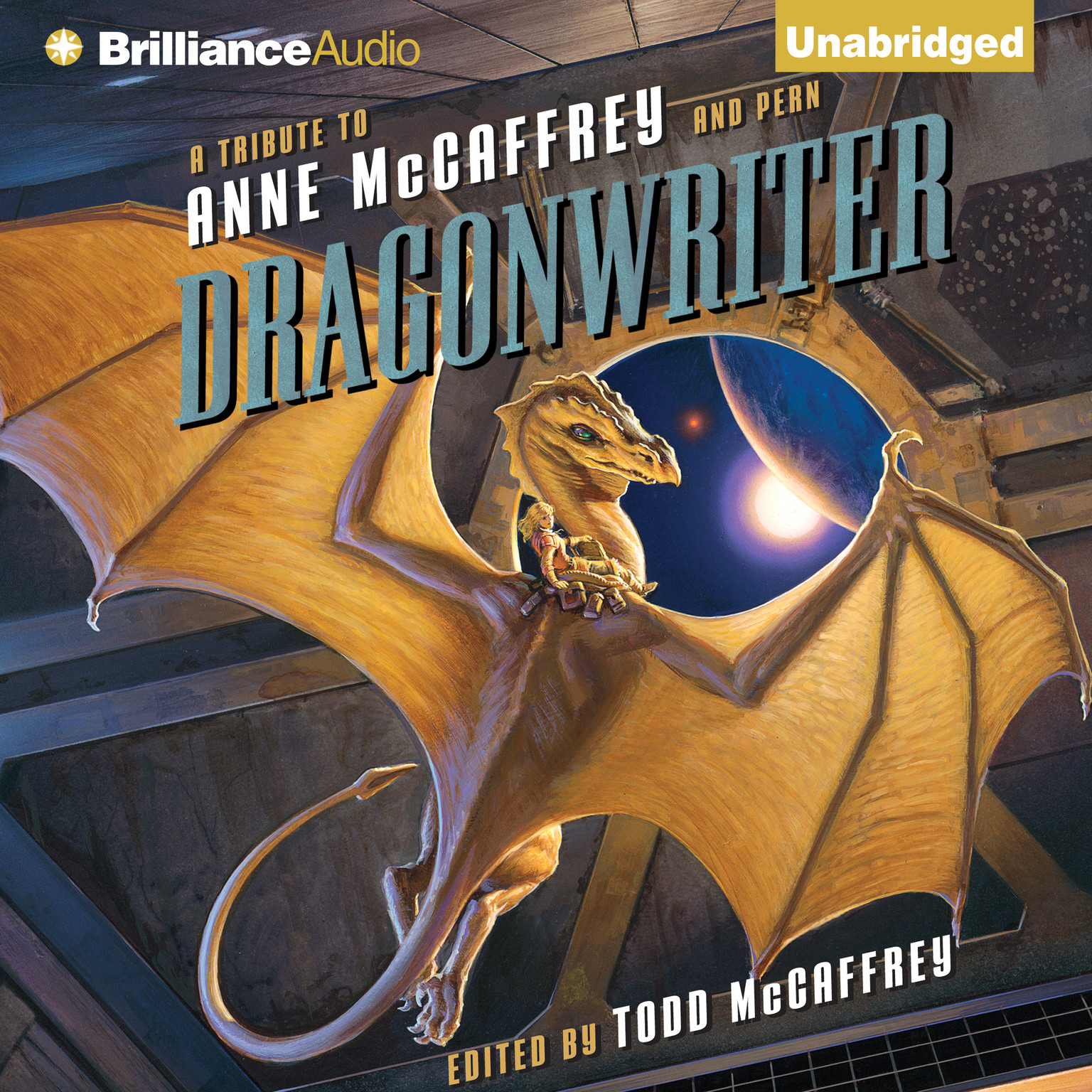 Printable Dragonwriter: A Tribute to Anne McCaffrey and Pern Audiobook Cover Art