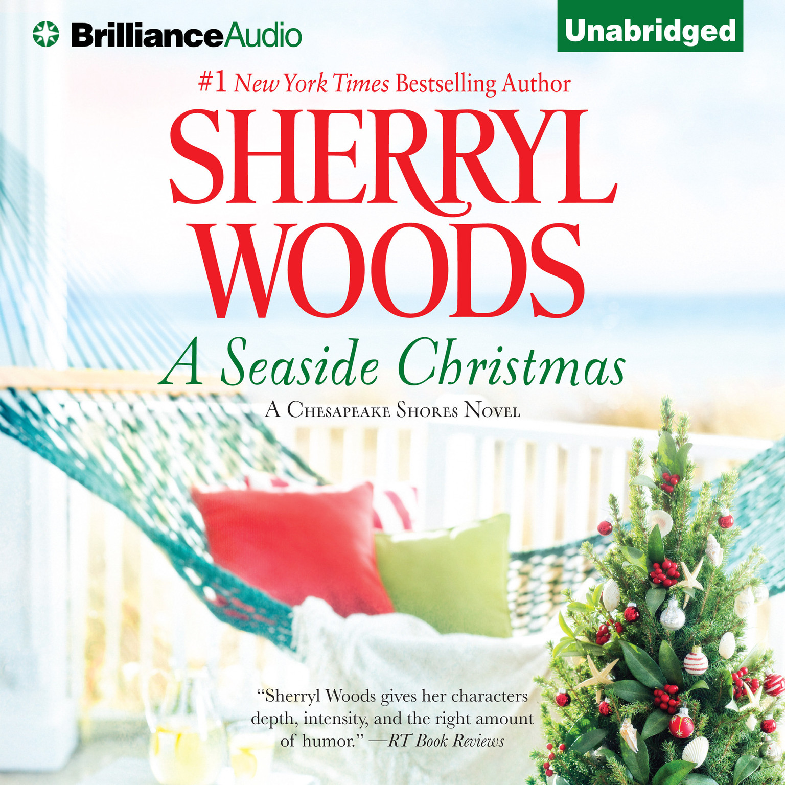 Printable A Seaside Christmas Audiobook Cover Art