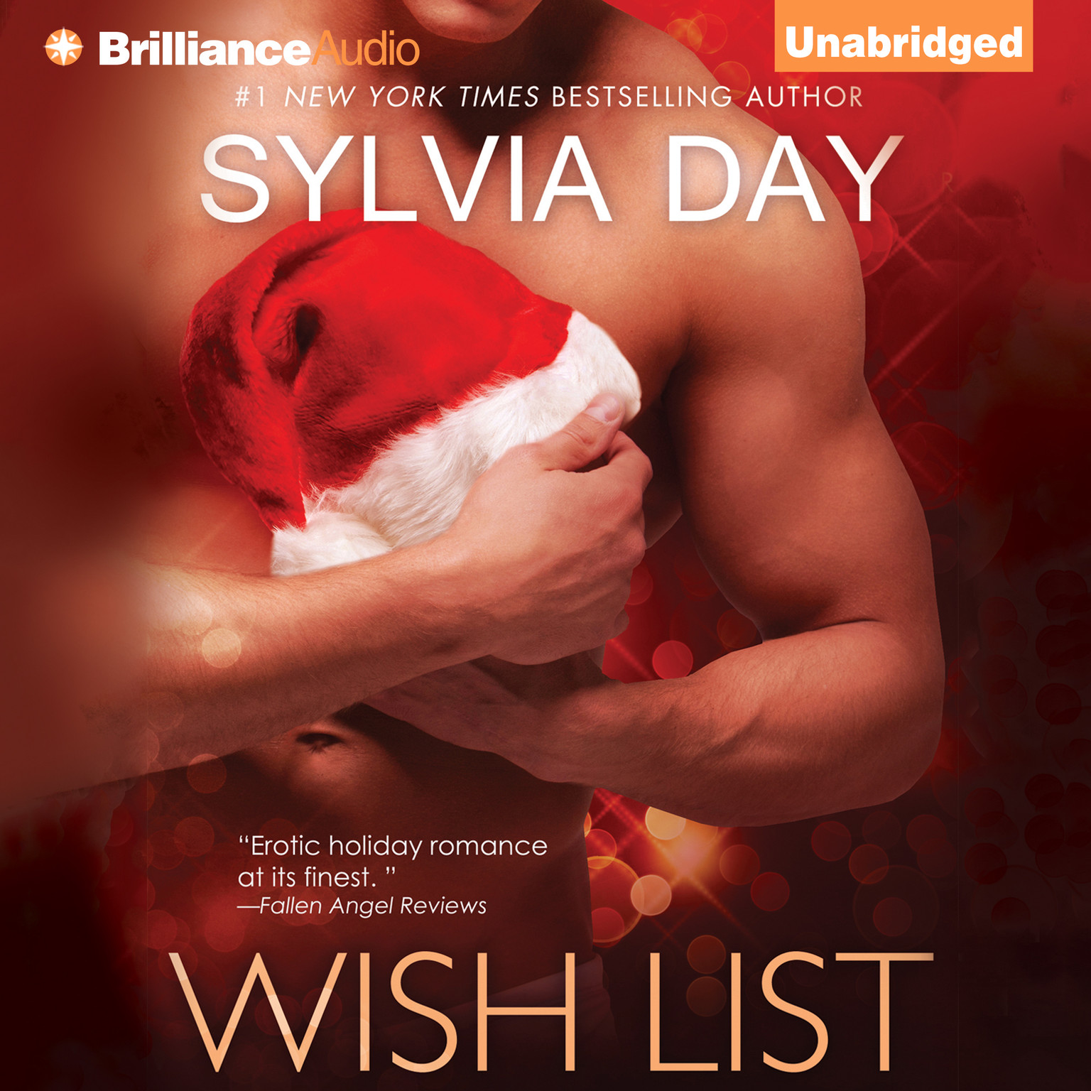 Printable Wish List Audiobook Cover Art