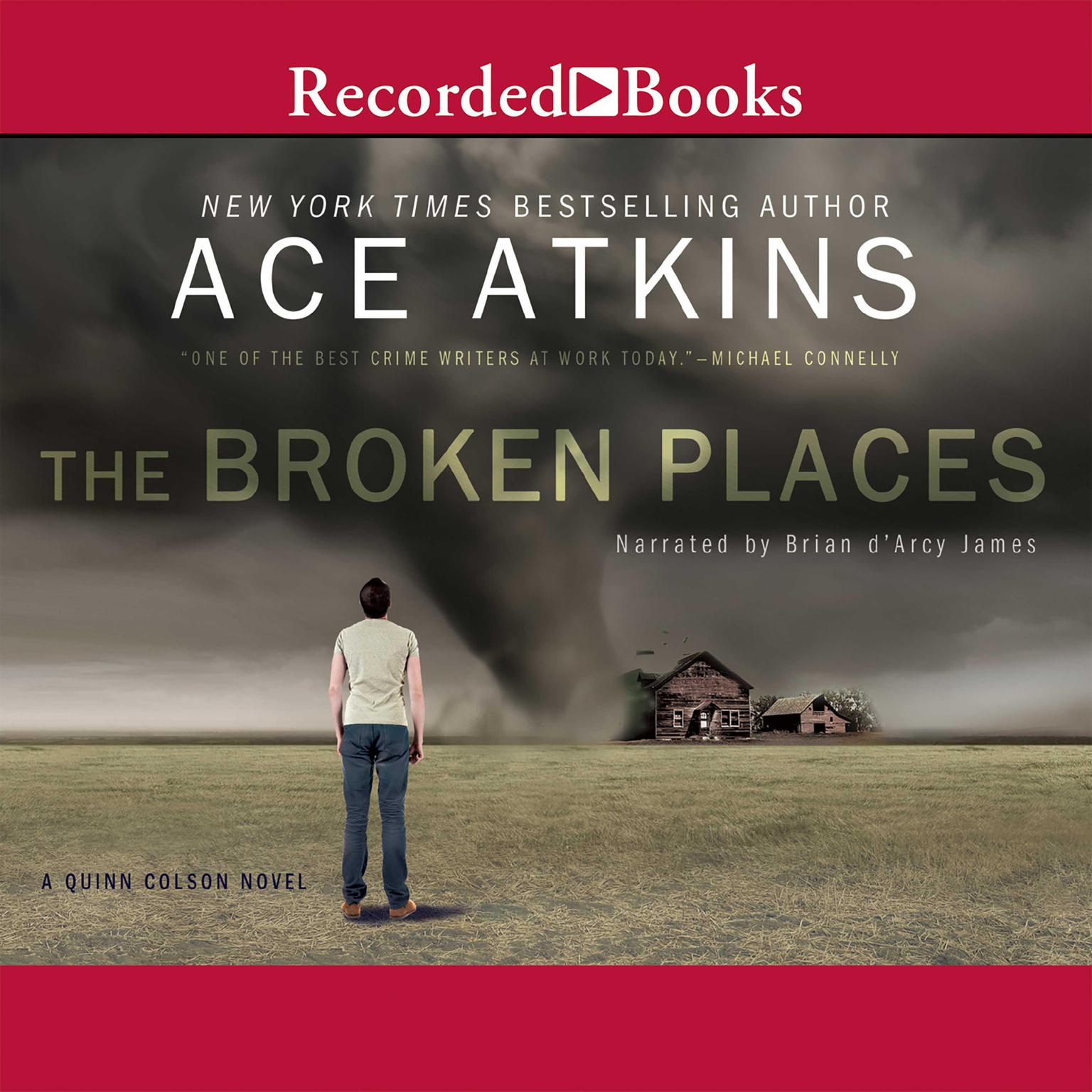 Printable The Broken Places Audiobook Cover Art