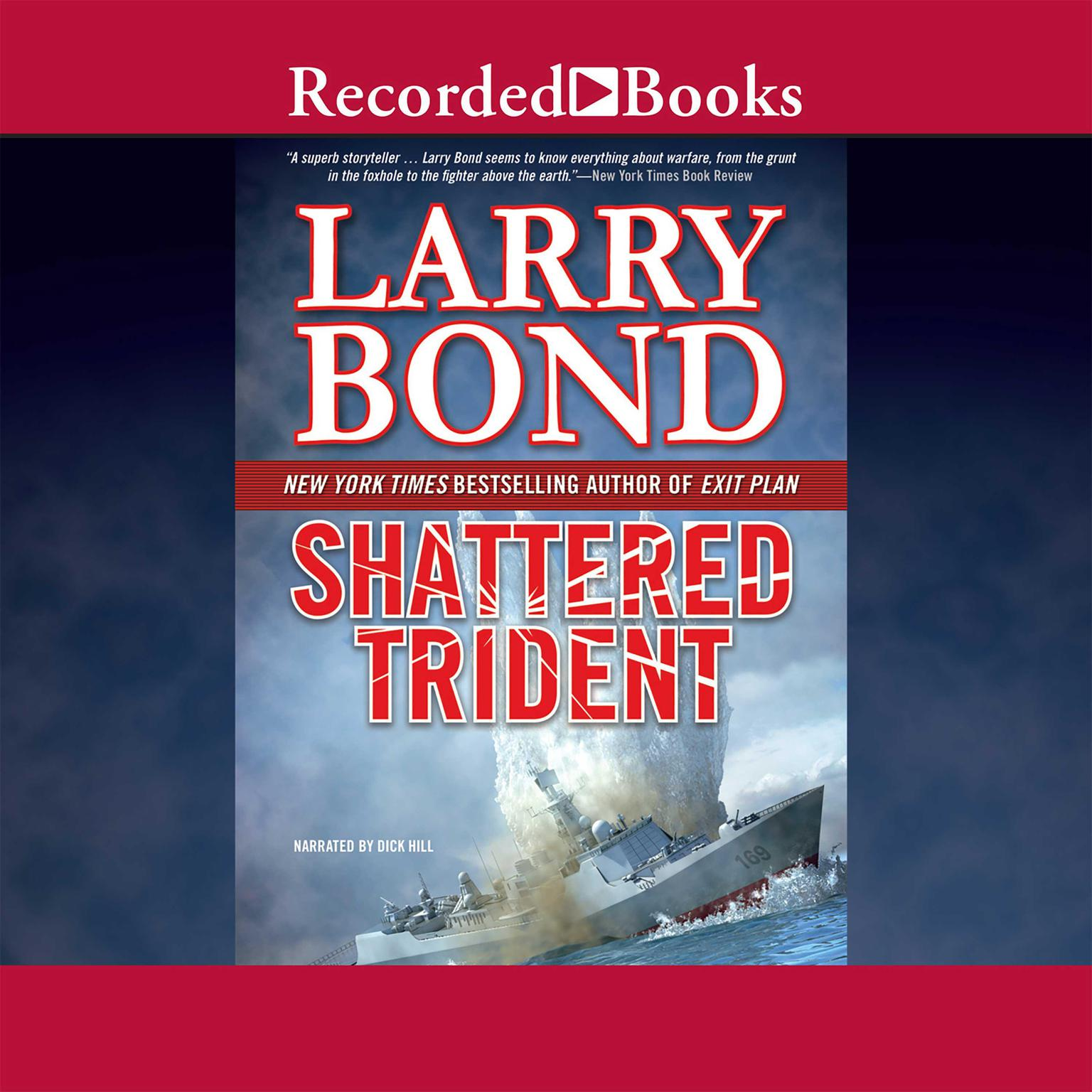 Printable Shattered Trident Audiobook Cover Art