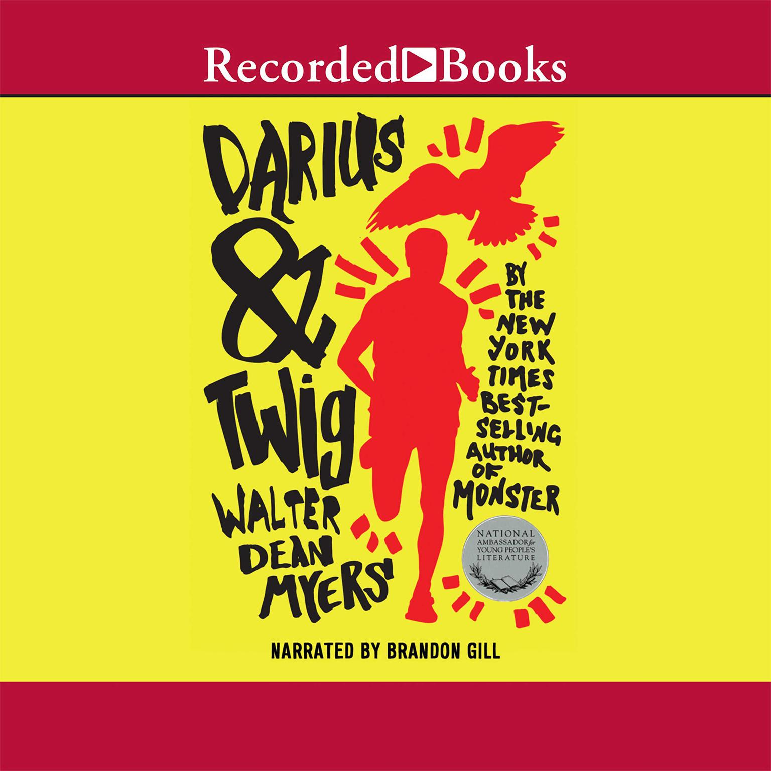 Printable Darius and Twig Audiobook Cover Art