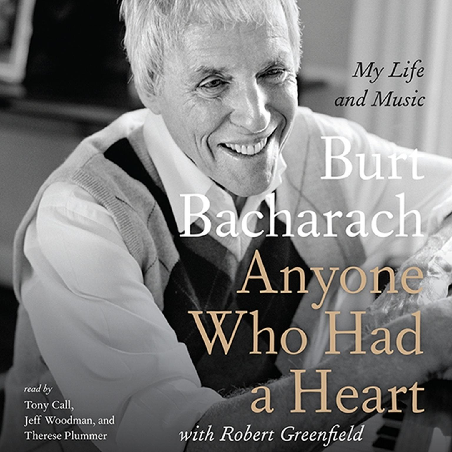 Printable Anyone Who Had a Heart: My Life and Music Audiobook Cover Art