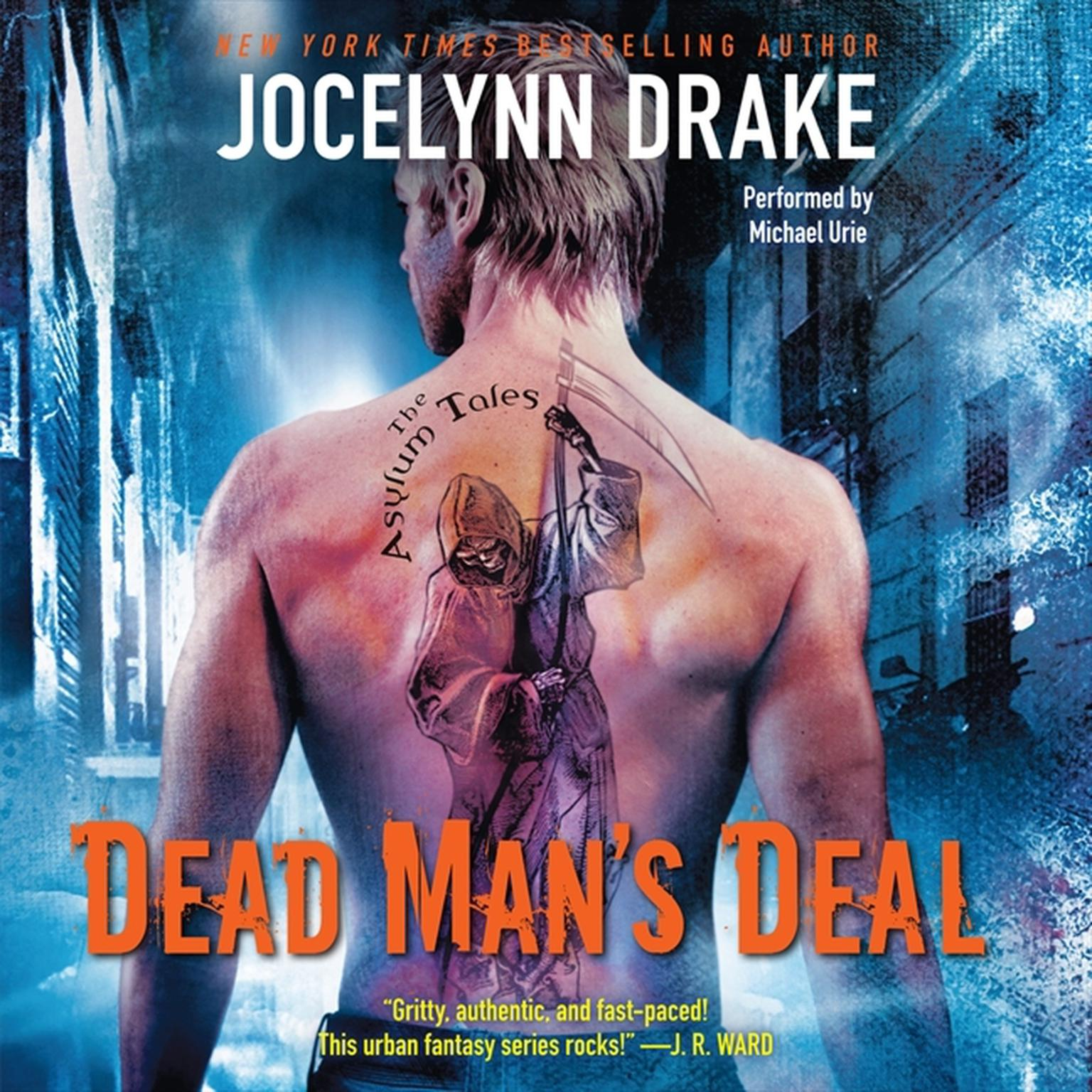 Printable Dead Man's Deal: The Asylum Tales Audiobook Cover Art