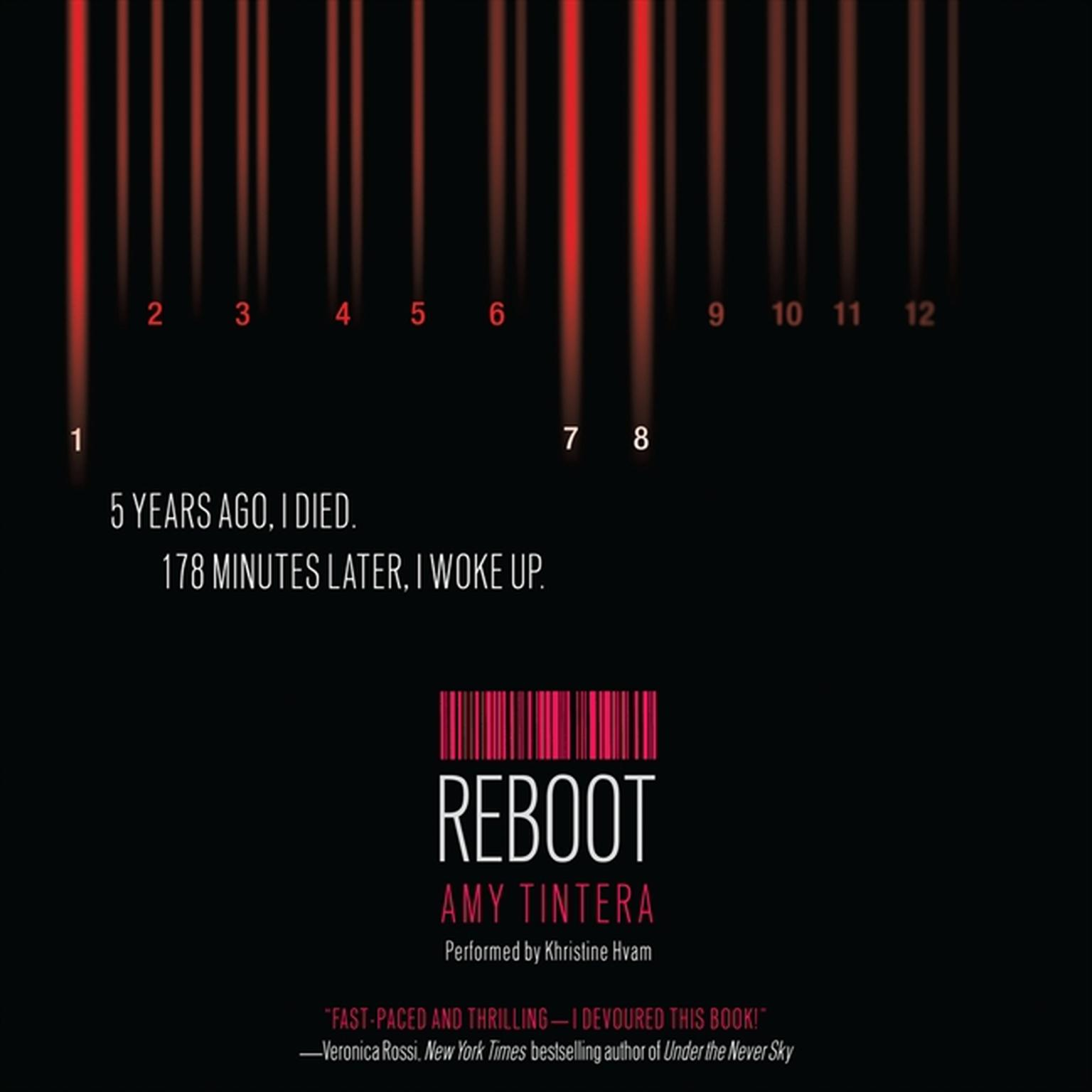 Printable Reboot Audiobook Cover Art