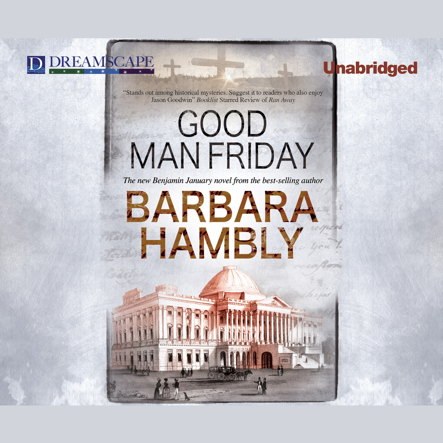 Printable Good Man Friday Audiobook Cover Art