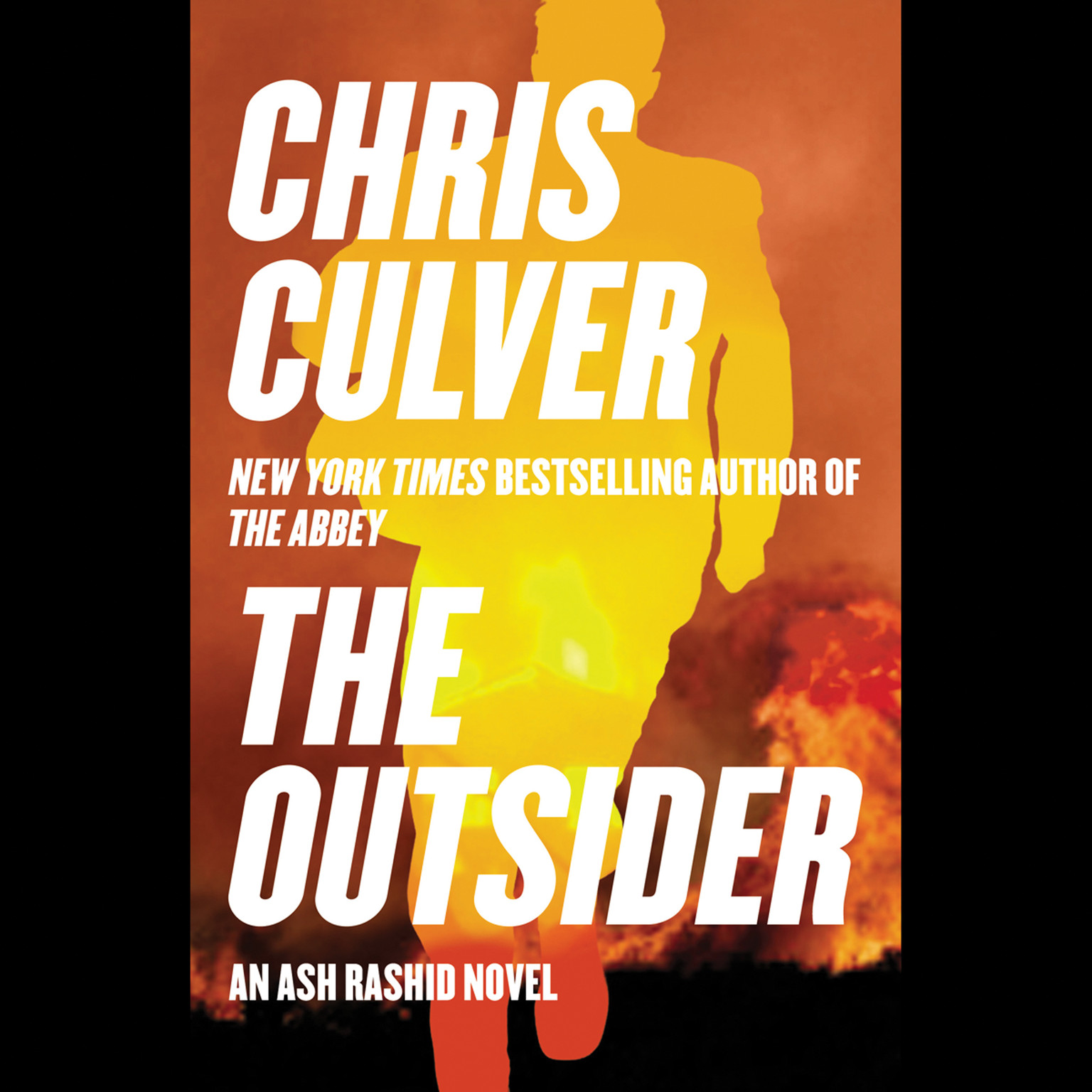 Printable The Outsider Audiobook Cover Art