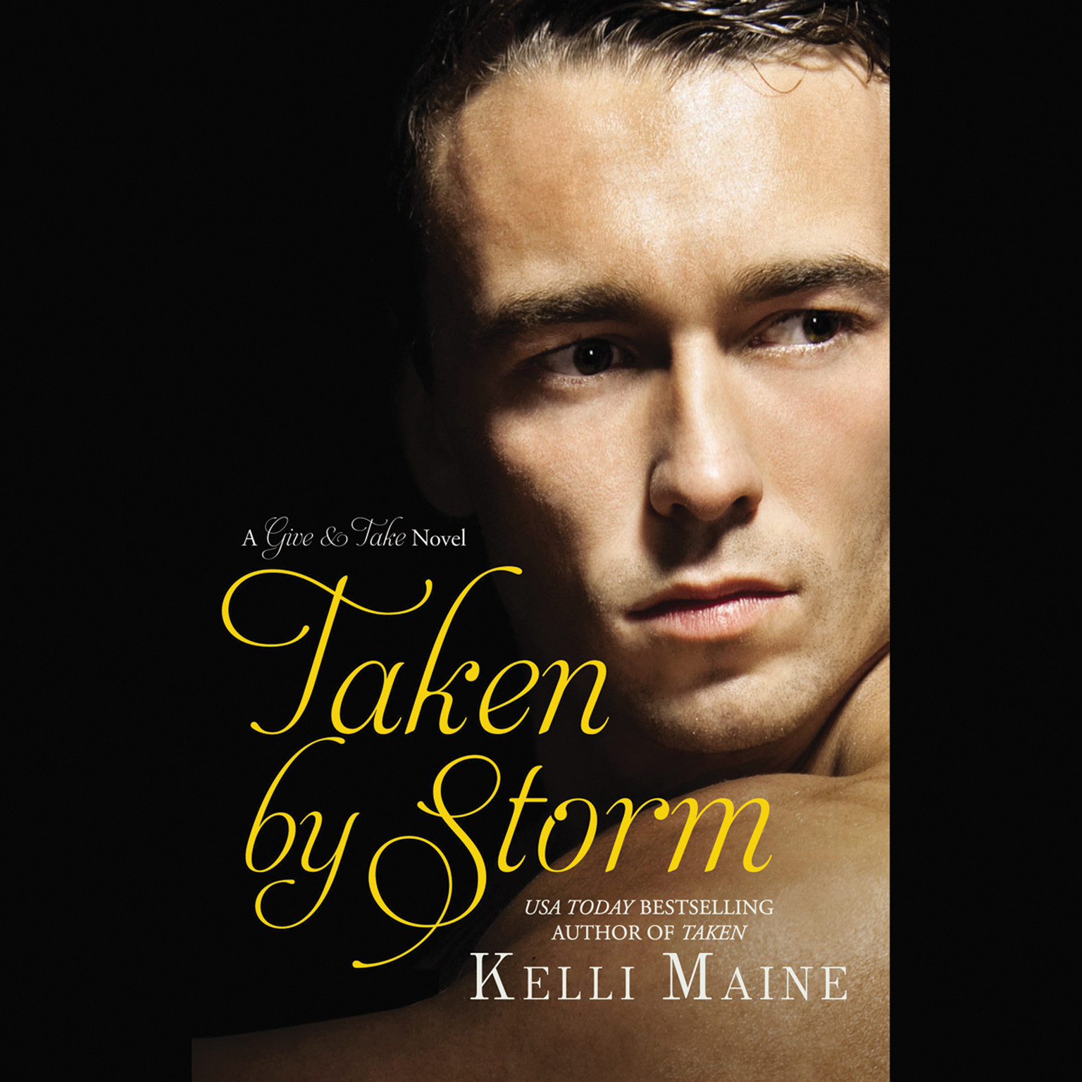 Printable Taken by Storm Audiobook Cover Art