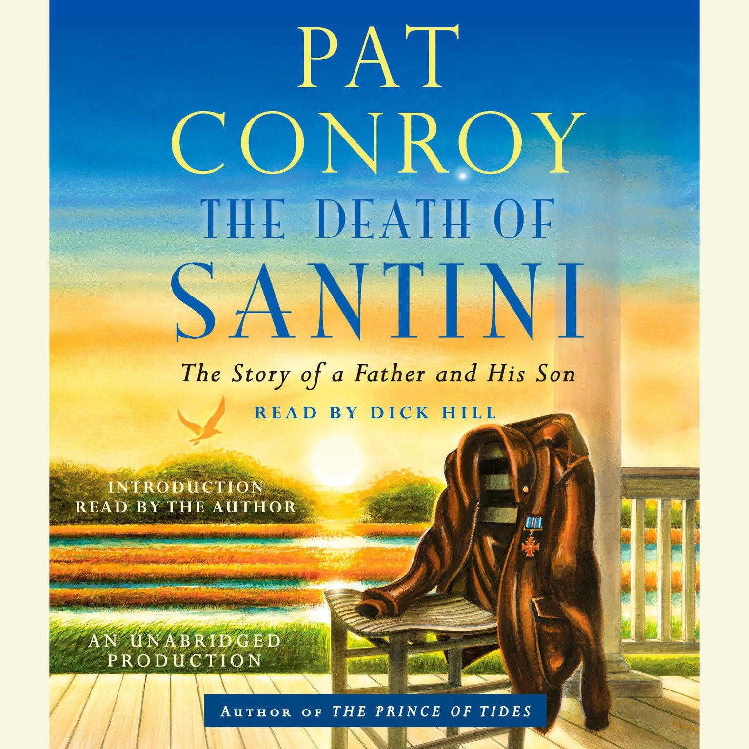 Printable The Death of Santini: The Story of a Father and His Son Audiobook Cover Art
