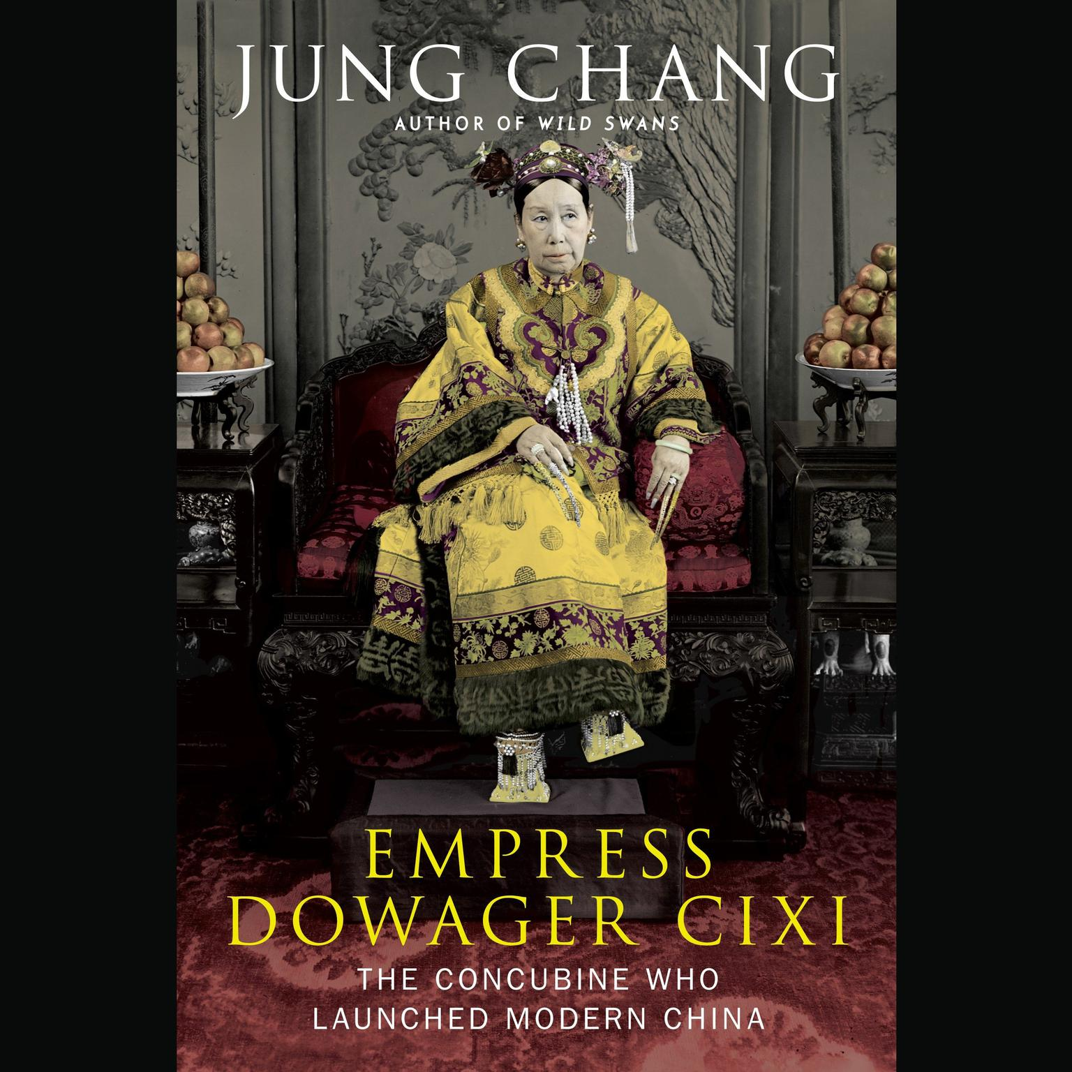 Printable Empress Dowager Cixi: The Concubine Who Launched Modern China Audiobook Cover Art