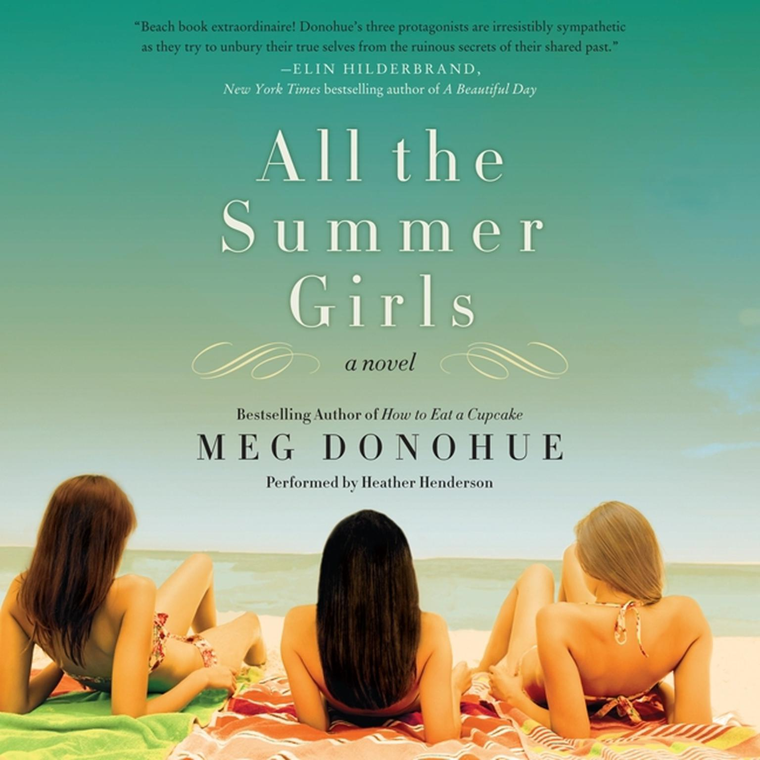 Printable All the Summer Girls Audiobook Cover Art