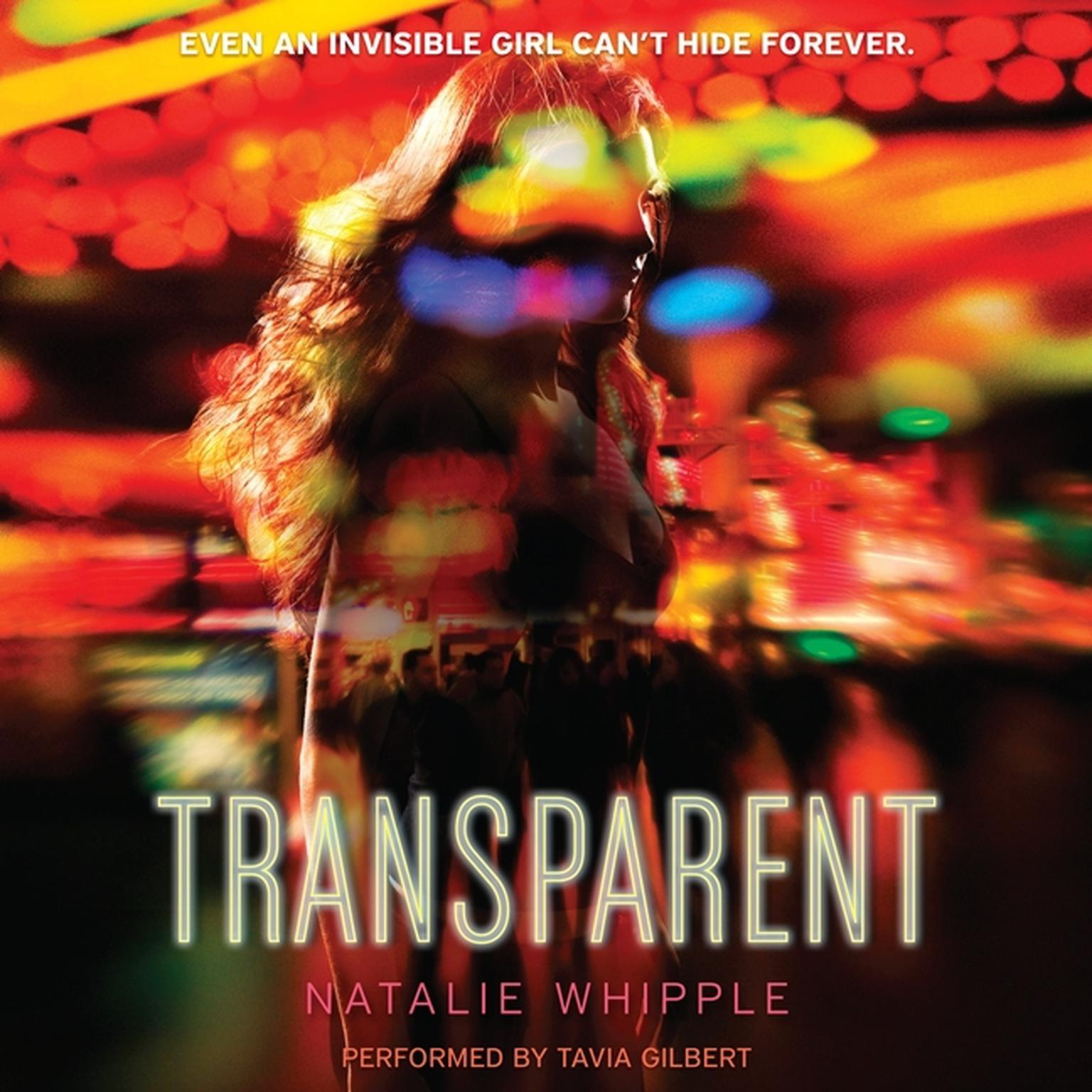 Printable Transparent Audiobook Cover Art