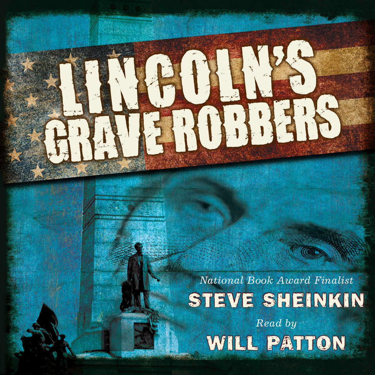 Printable Lincoln's Grave Robbers Audiobook Cover Art