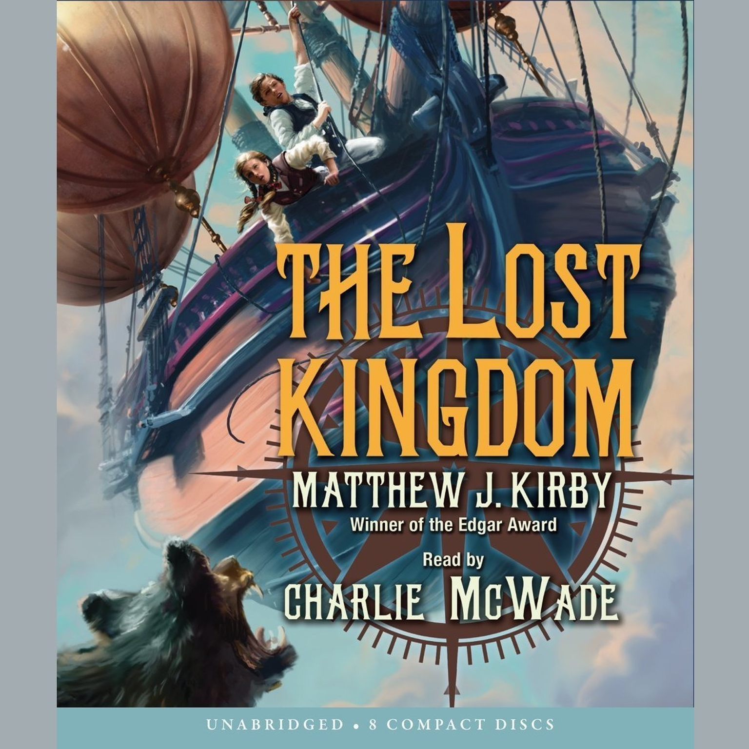 Printable The Lost Kingdom Audiobook Cover Art