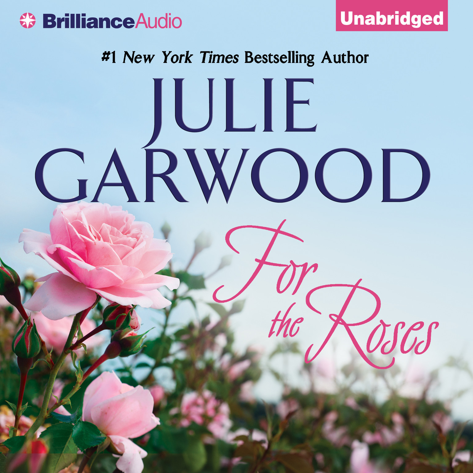 Printable For the Roses Audiobook Cover Art