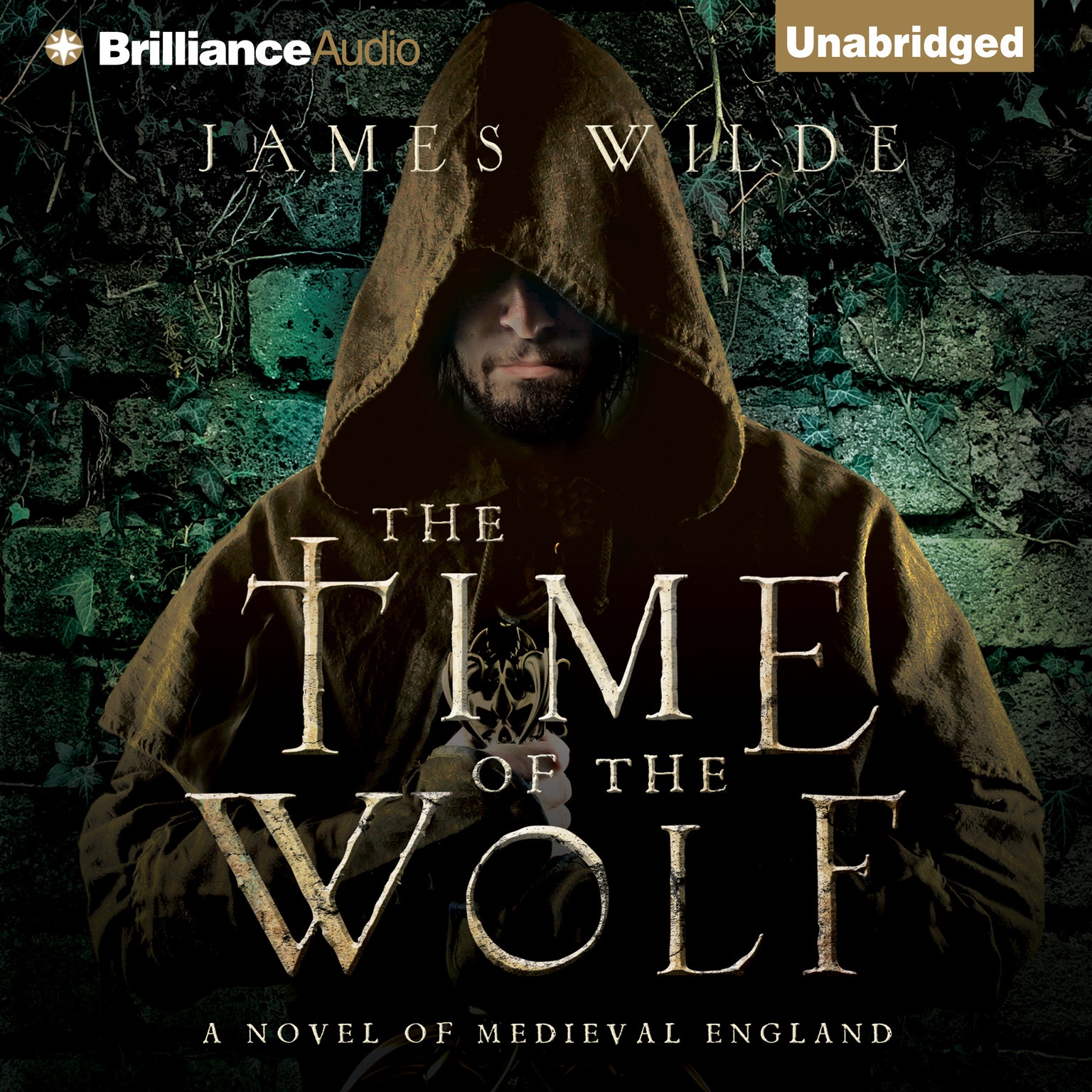 Printable The Time of the Wolf: A Novel of Medieval England Audiobook Cover Art