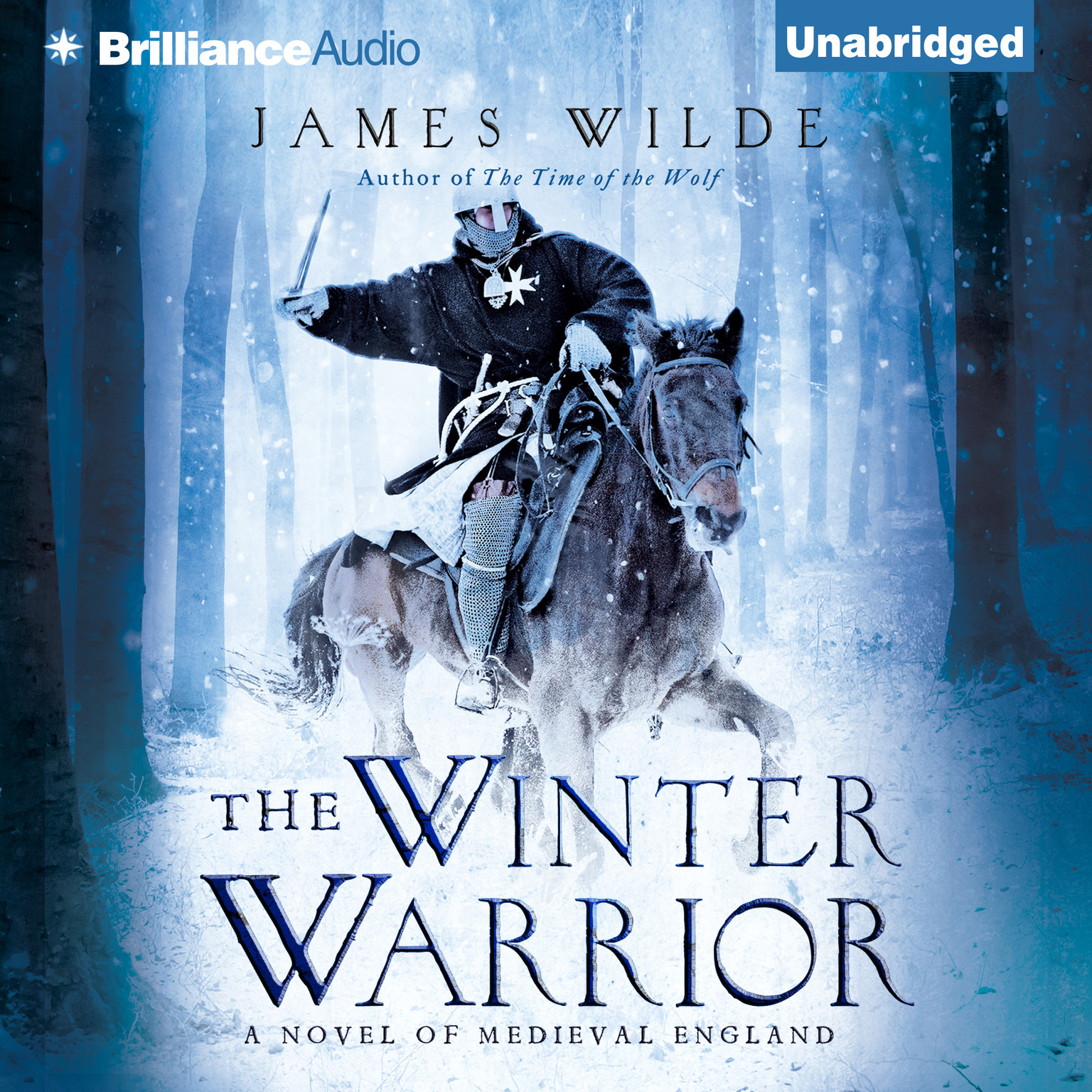 Printable The Winter Warrior: A Novel of Medieval England Audiobook Cover Art