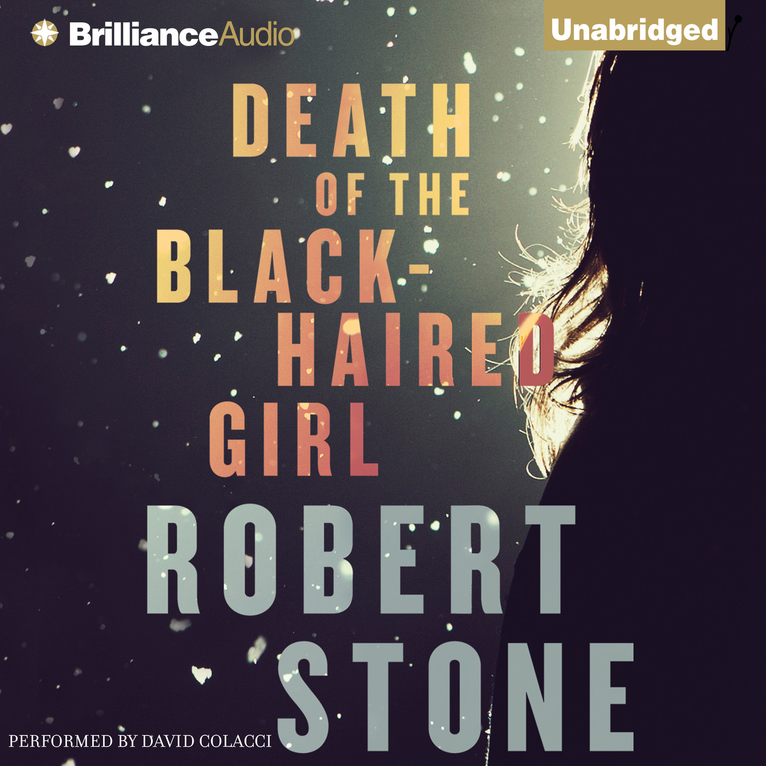 Printable Death of the Black-Haired Girl Audiobook Cover Art