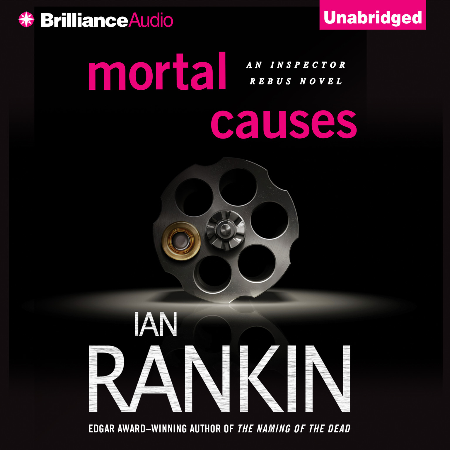 Printable Mortal Causes Audiobook Cover Art