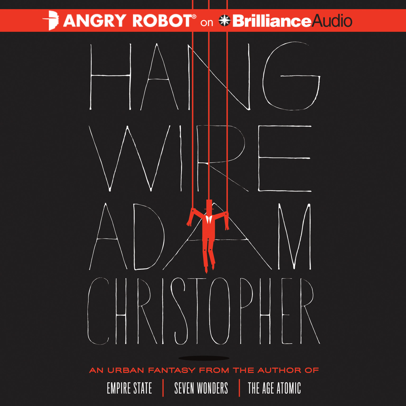 Printable Hang Wire Audiobook Cover Art