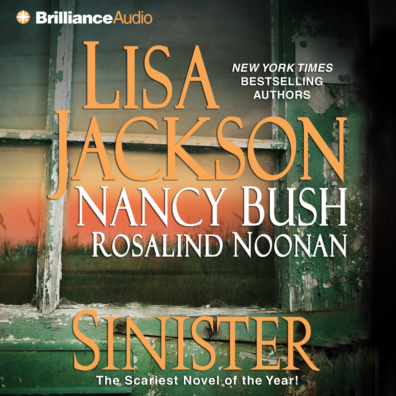 Printable Sinister Audiobook Cover Art