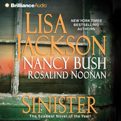 Sinister Audiobook, by Lisa Jackson, Nancy Bush, Rosalind Noonan