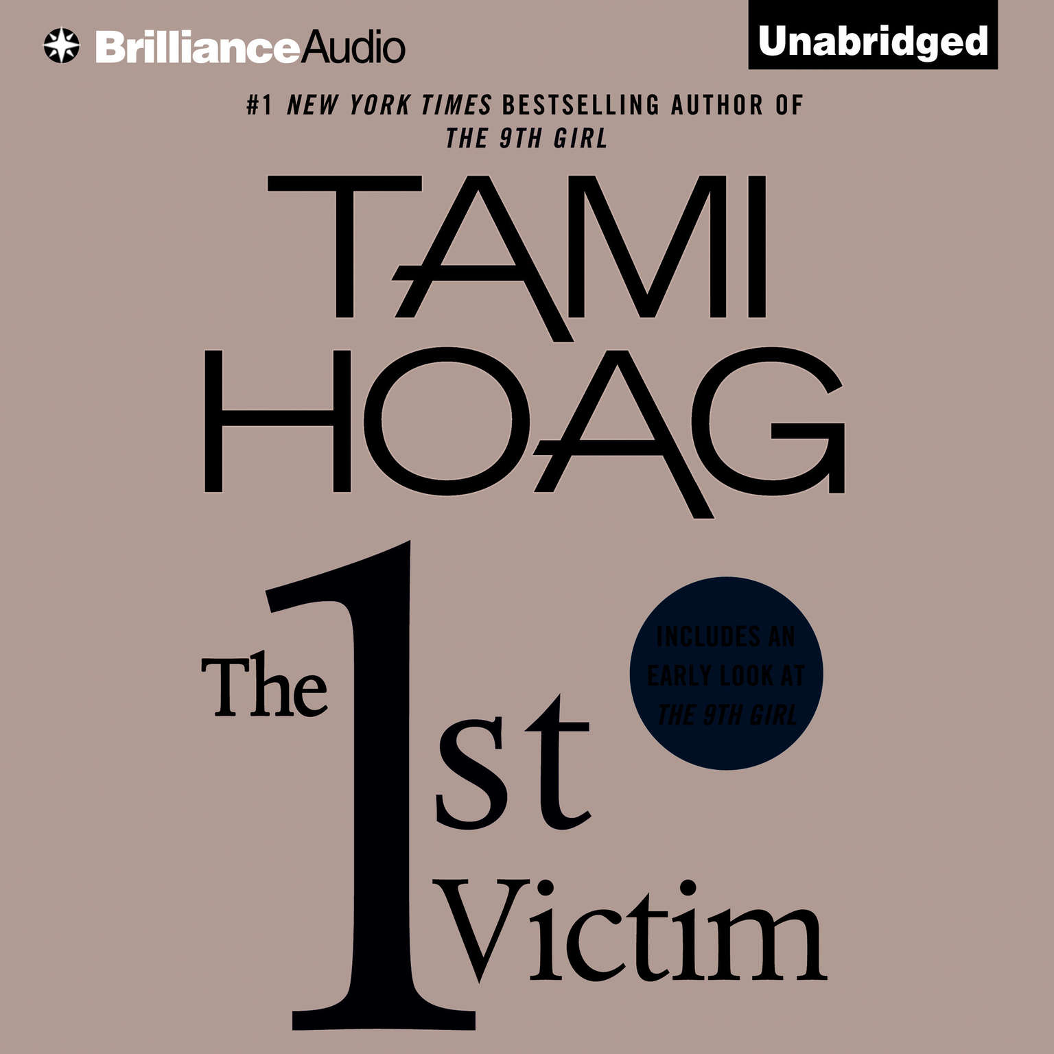 Printable The 1st Victim Audiobook Cover Art