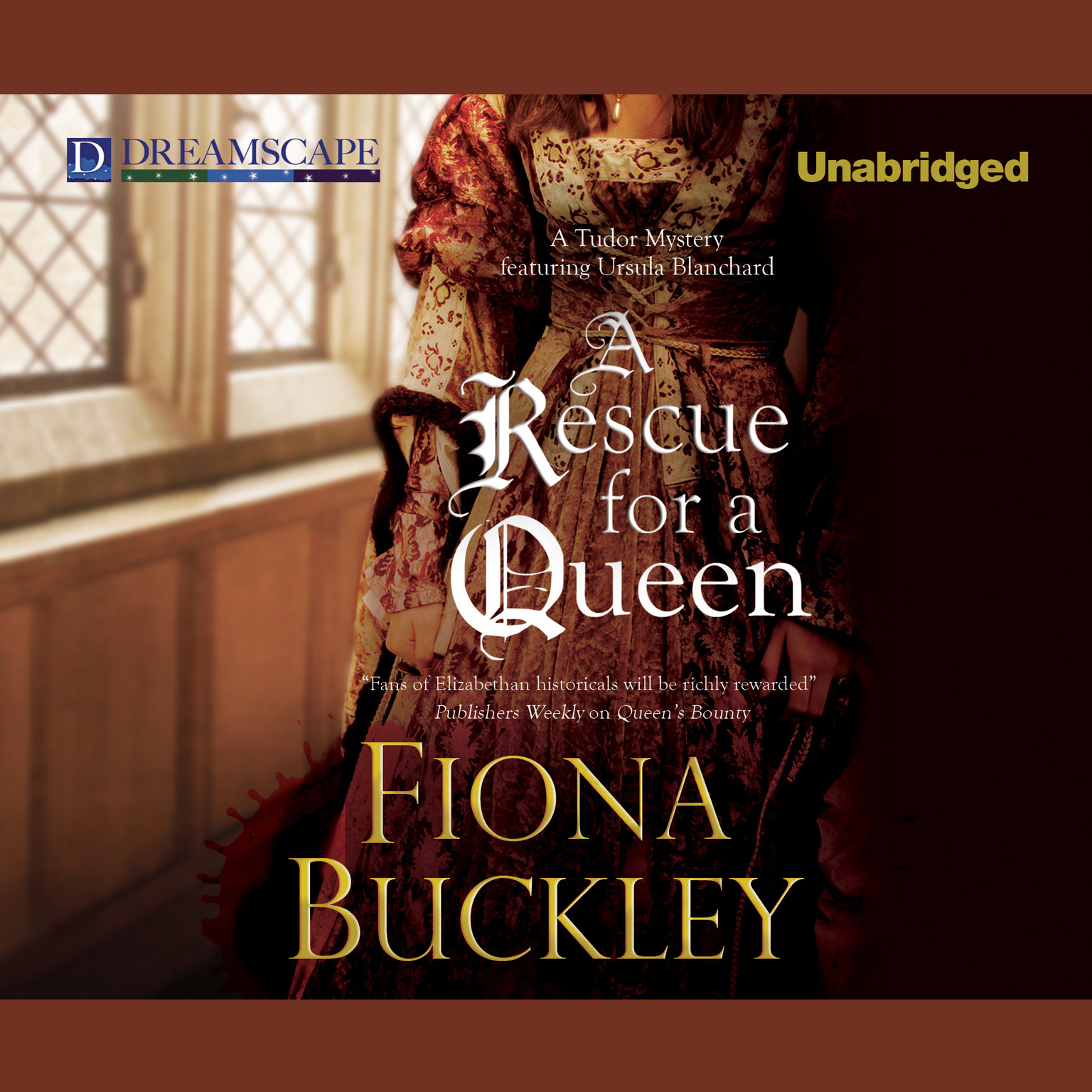 Printable A Rescue for a Queen Audiobook Cover Art