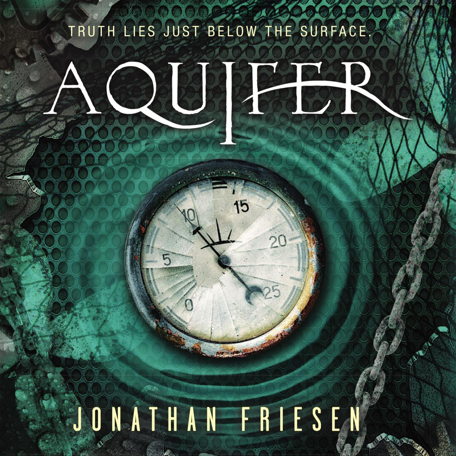 Printable Aquifer Audiobook Cover Art