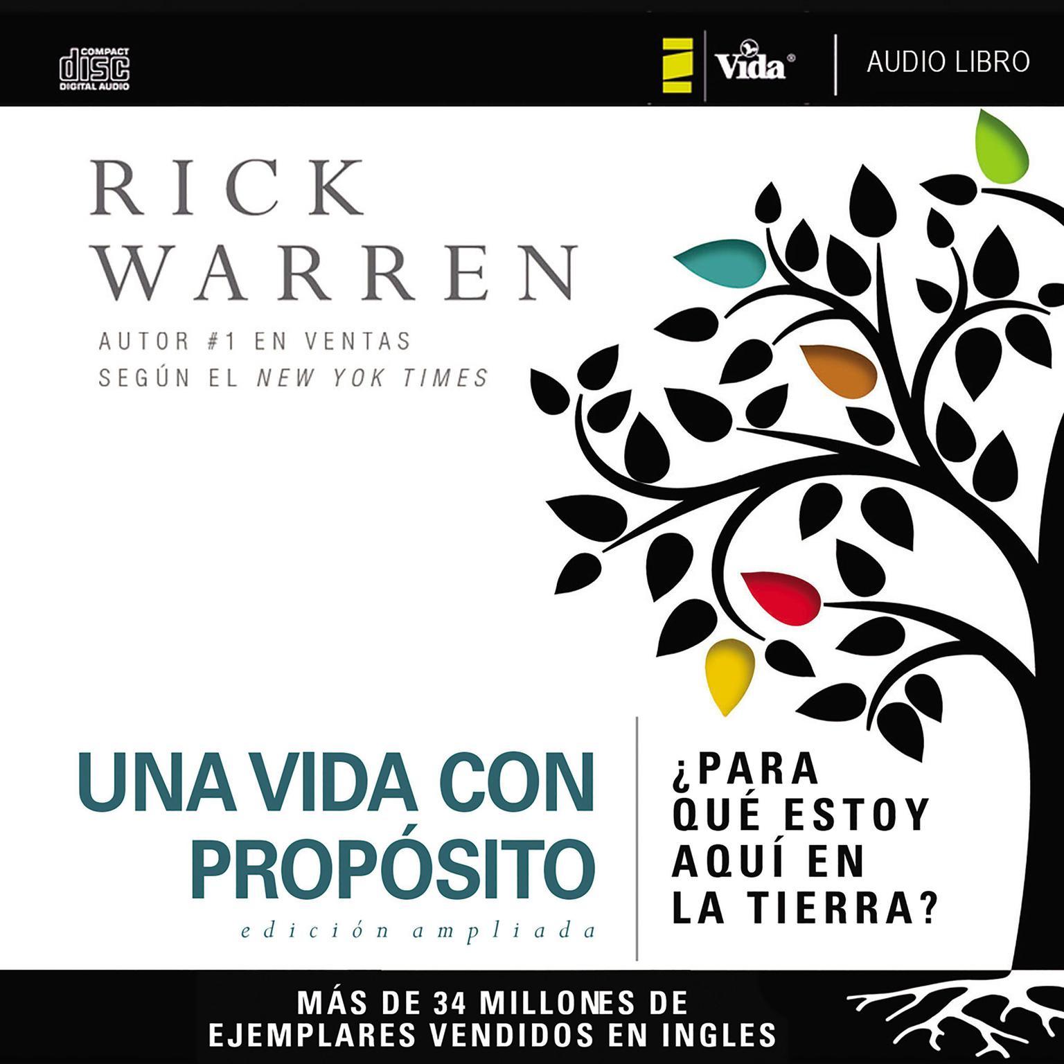 Printable Una vida con propósito: ¿Para qué estoy aquí en la tierra? Audiobook Cover Art