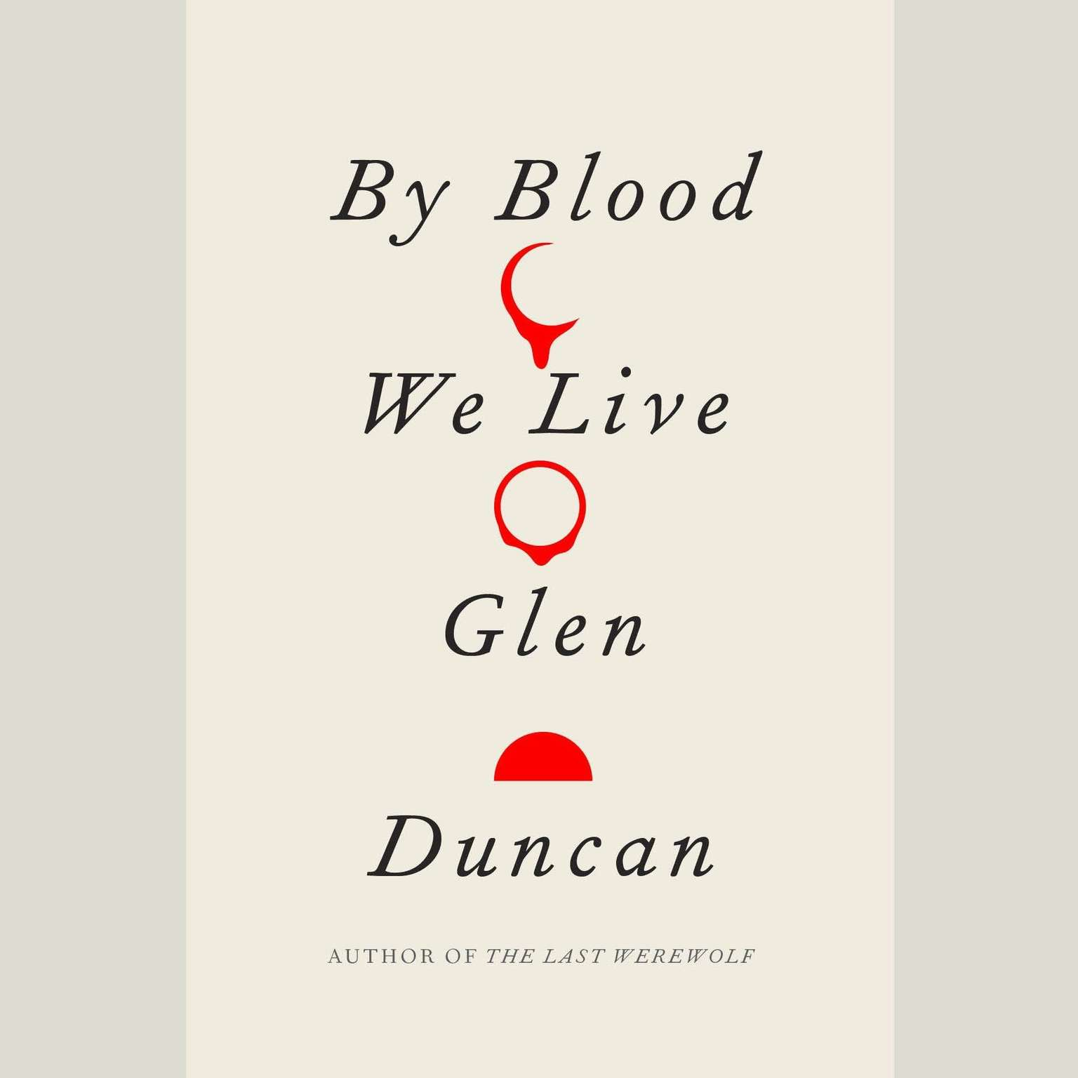 Printable By Blood We Live Audiobook Cover Art