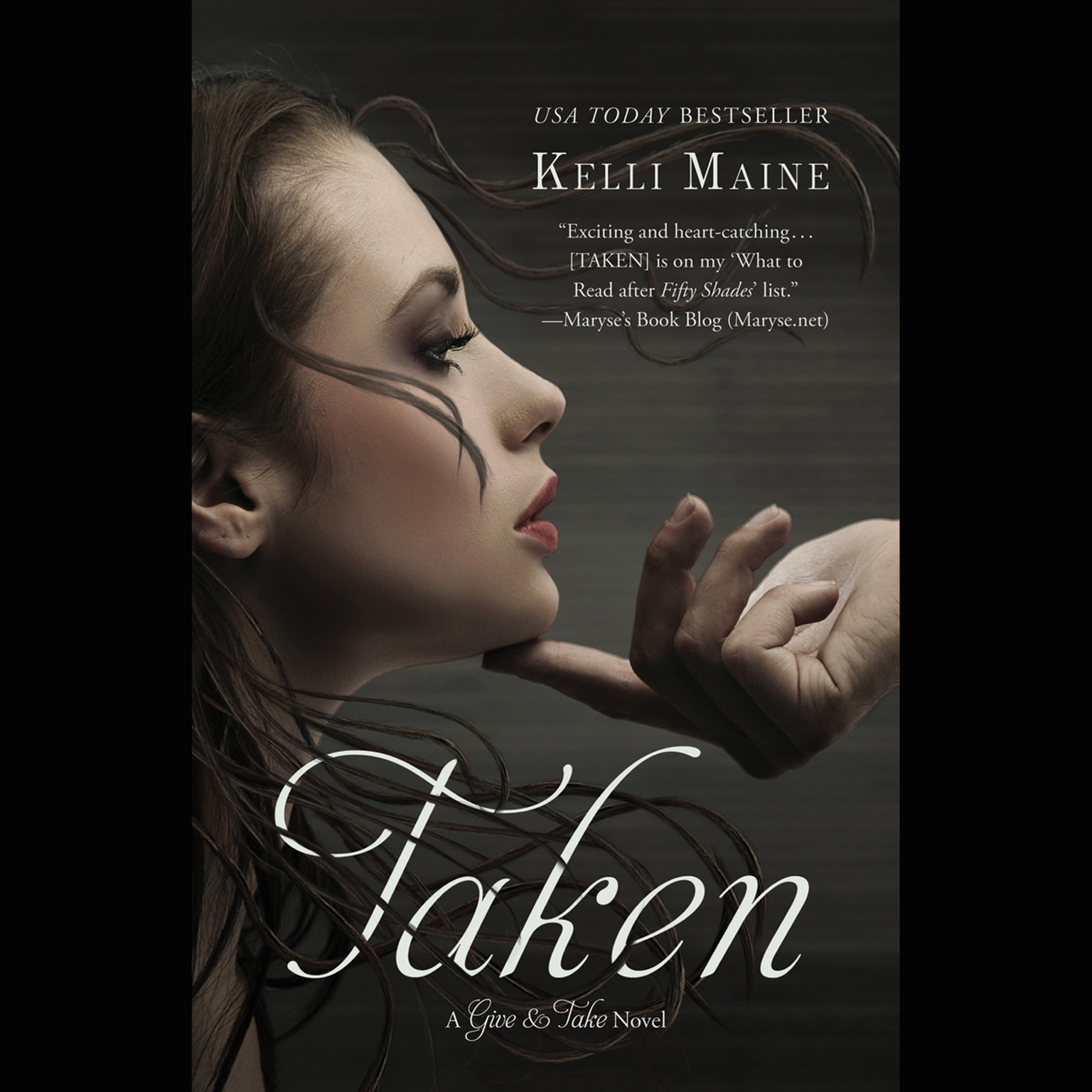 Printable Taken Audiobook Cover Art