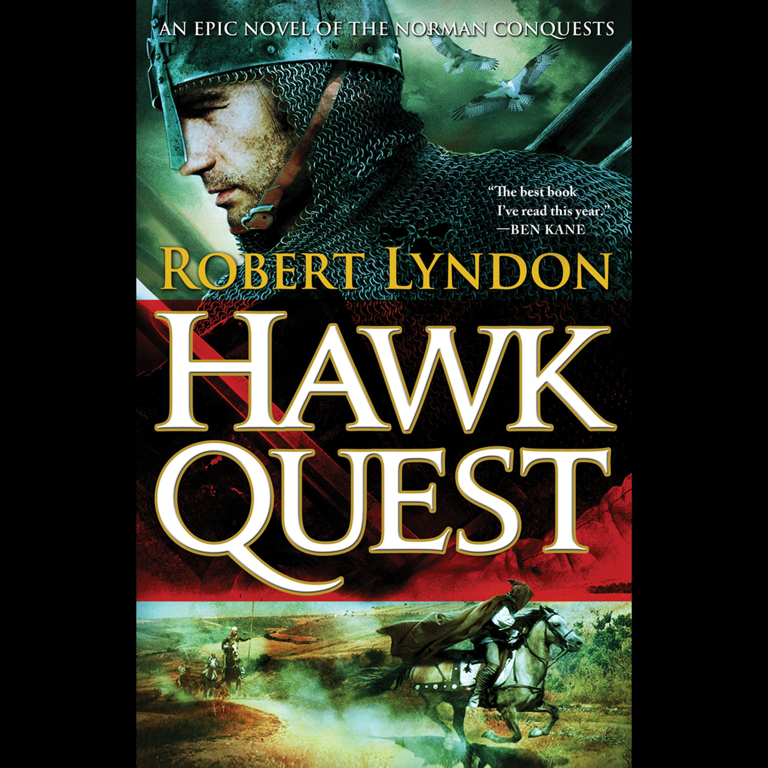 Printable Hawk Quest Audiobook Cover Art
