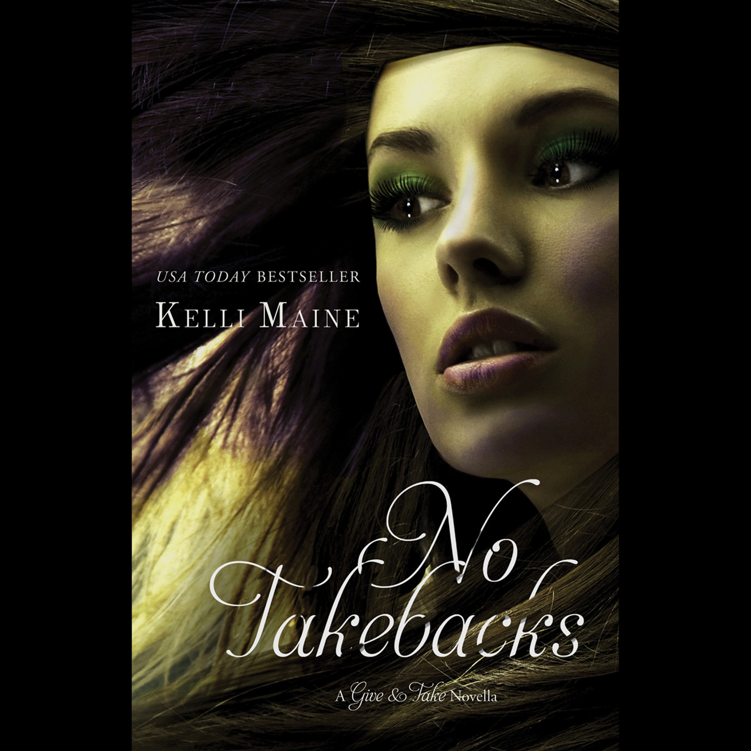 Printable No Takebacks Audiobook Cover Art
