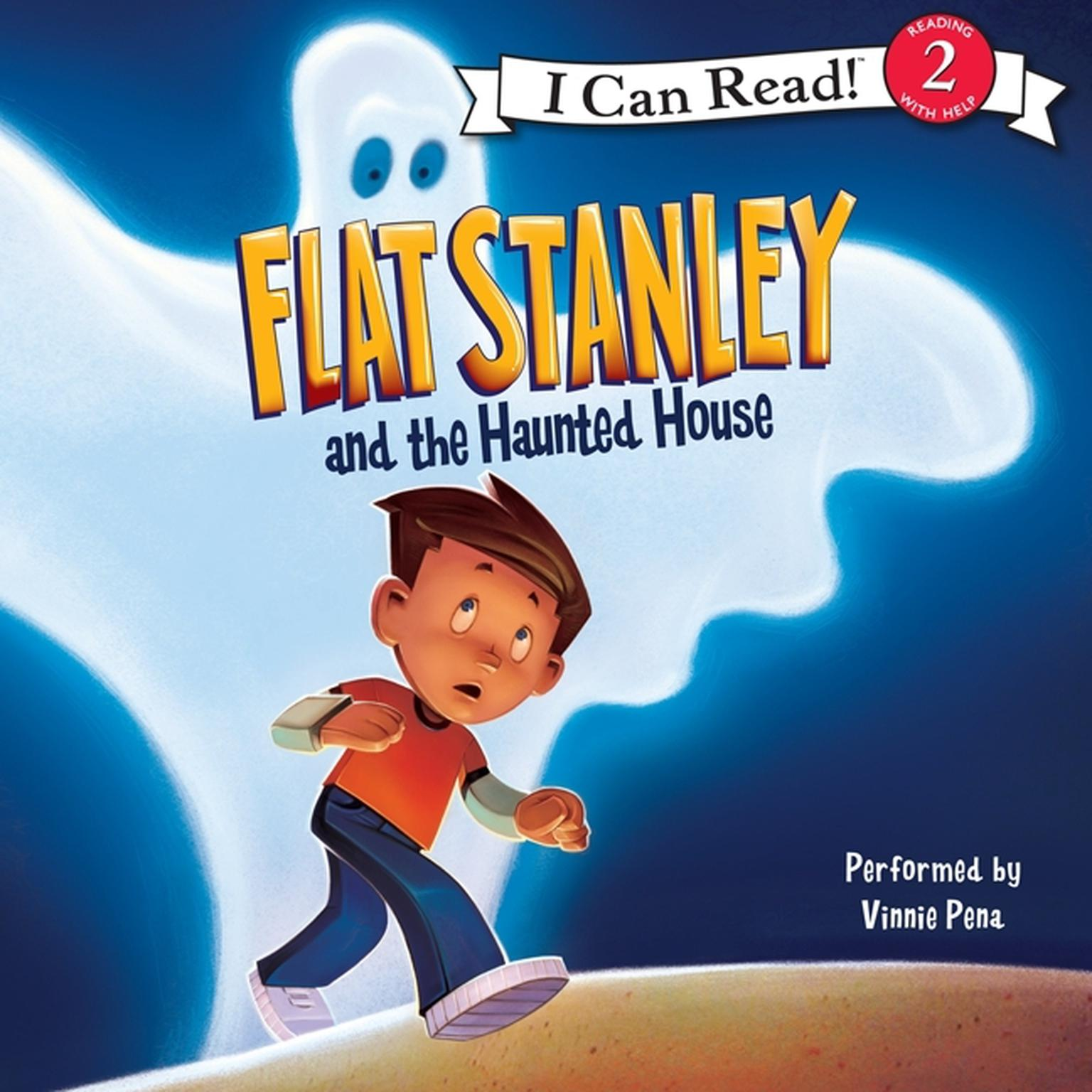 Printable Flat Stanley and the Haunted House Audiobook Cover Art