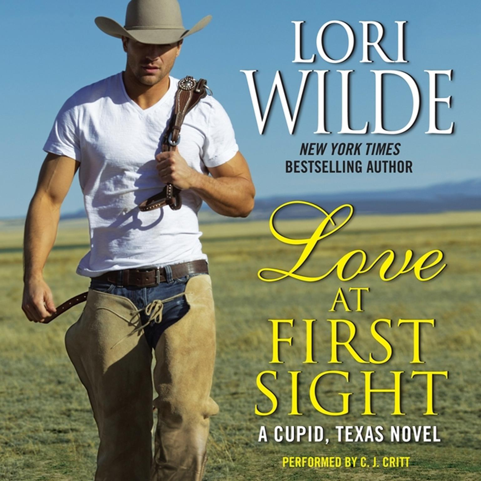 Printable Love at First Sight: A Cupid, Texas Novel Audiobook Cover Art