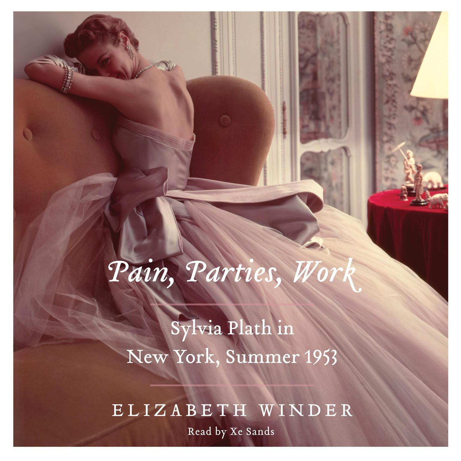 Printable Pain, Parties, Work: Sylvia Plath in New York, Summer 1953 Audiobook Cover Art