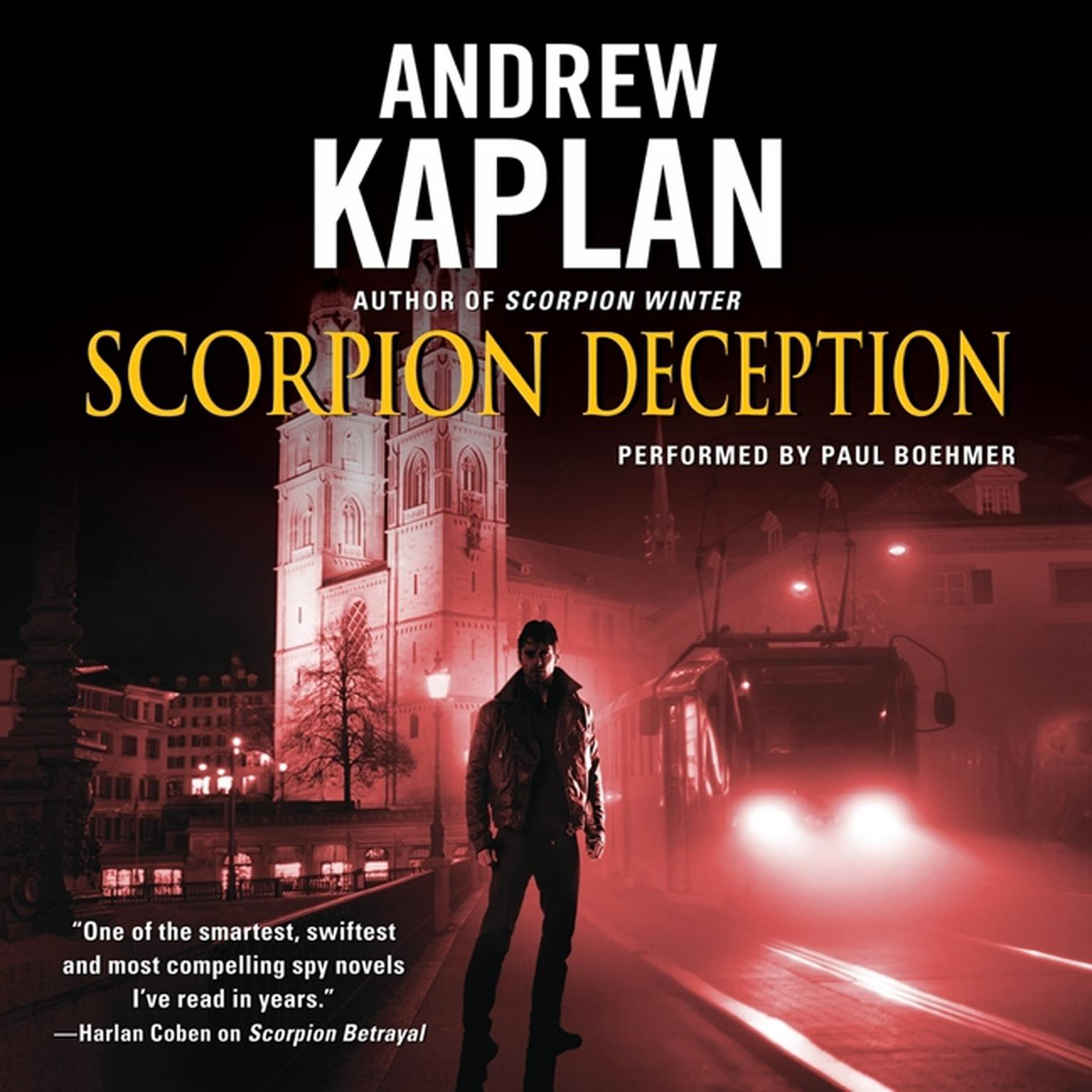Printable Scorpion Deception Audiobook Cover Art