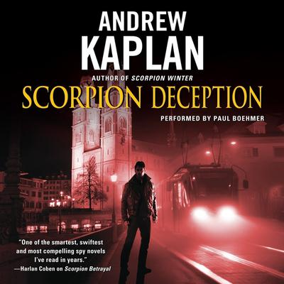 Scorpion Deception Audiobook, by Andrew Kaplan
