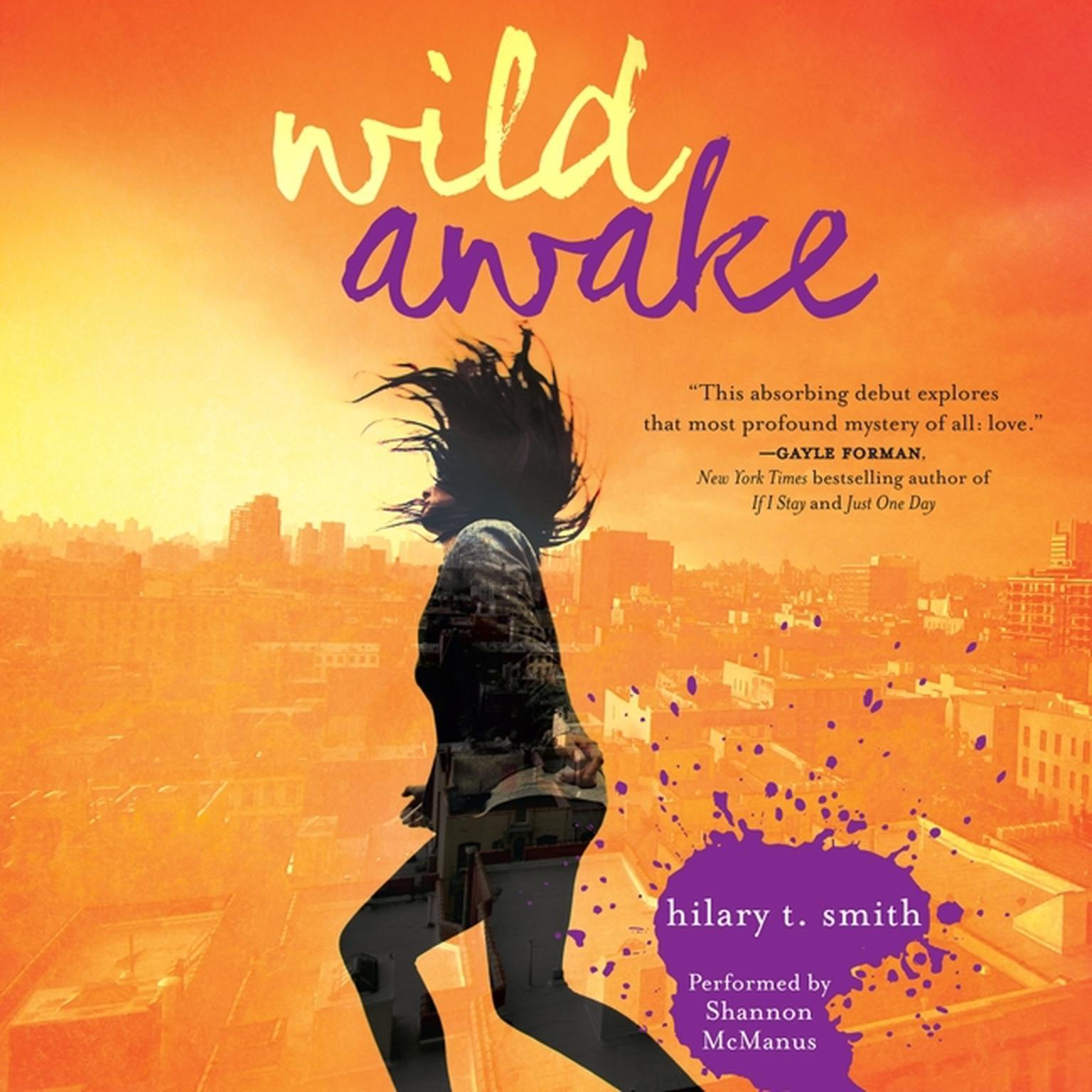 Printable Wild Awake Audiobook Cover Art