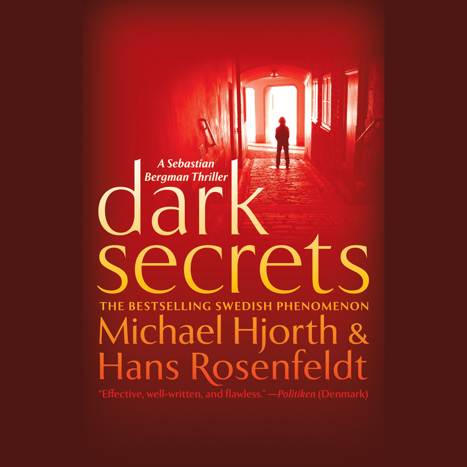 Printable Dark Secrets: A Sebastian Bergman Mystery Audiobook Cover Art